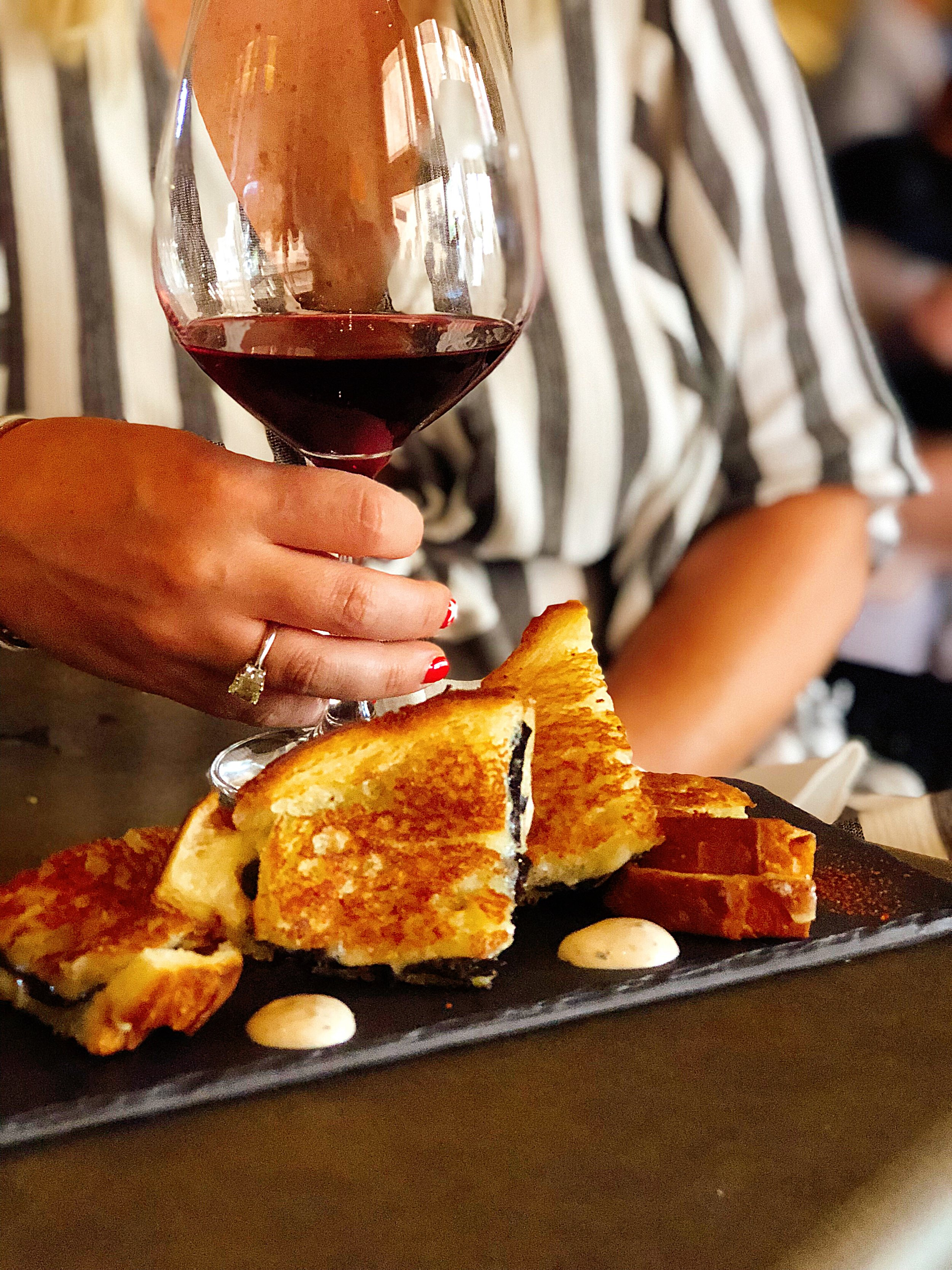 Black Truffled Grilled Cheese Fontina Val D'aosta, + Pain De Mie