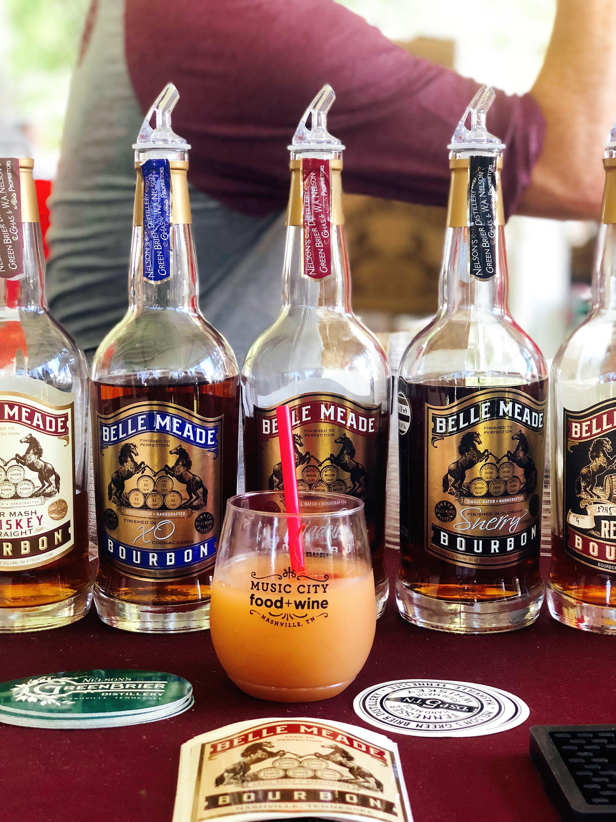 Belle Meade Bourbon- Cold Fashioned