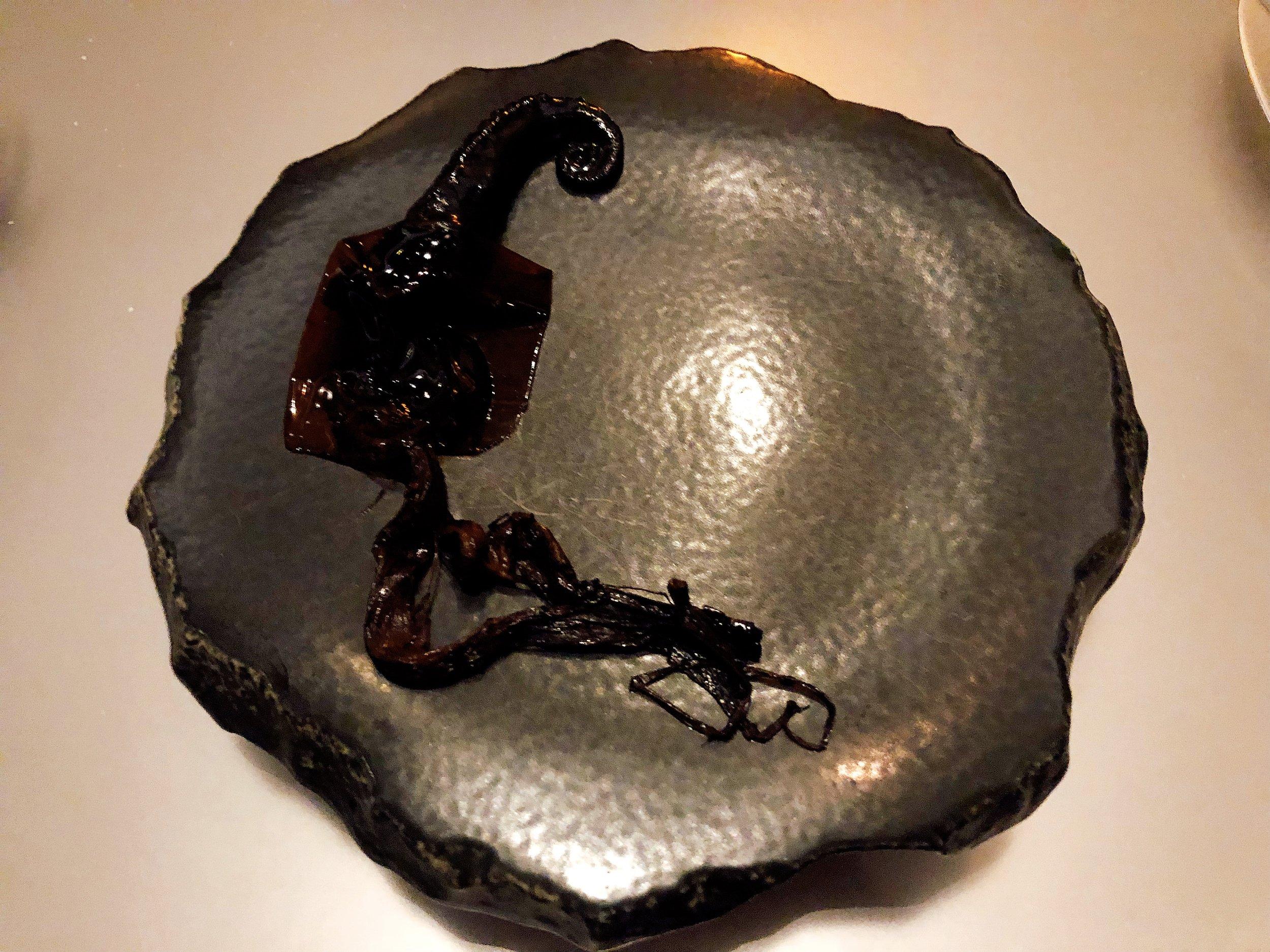 Ink | Octopus + Scallion + Black Lime