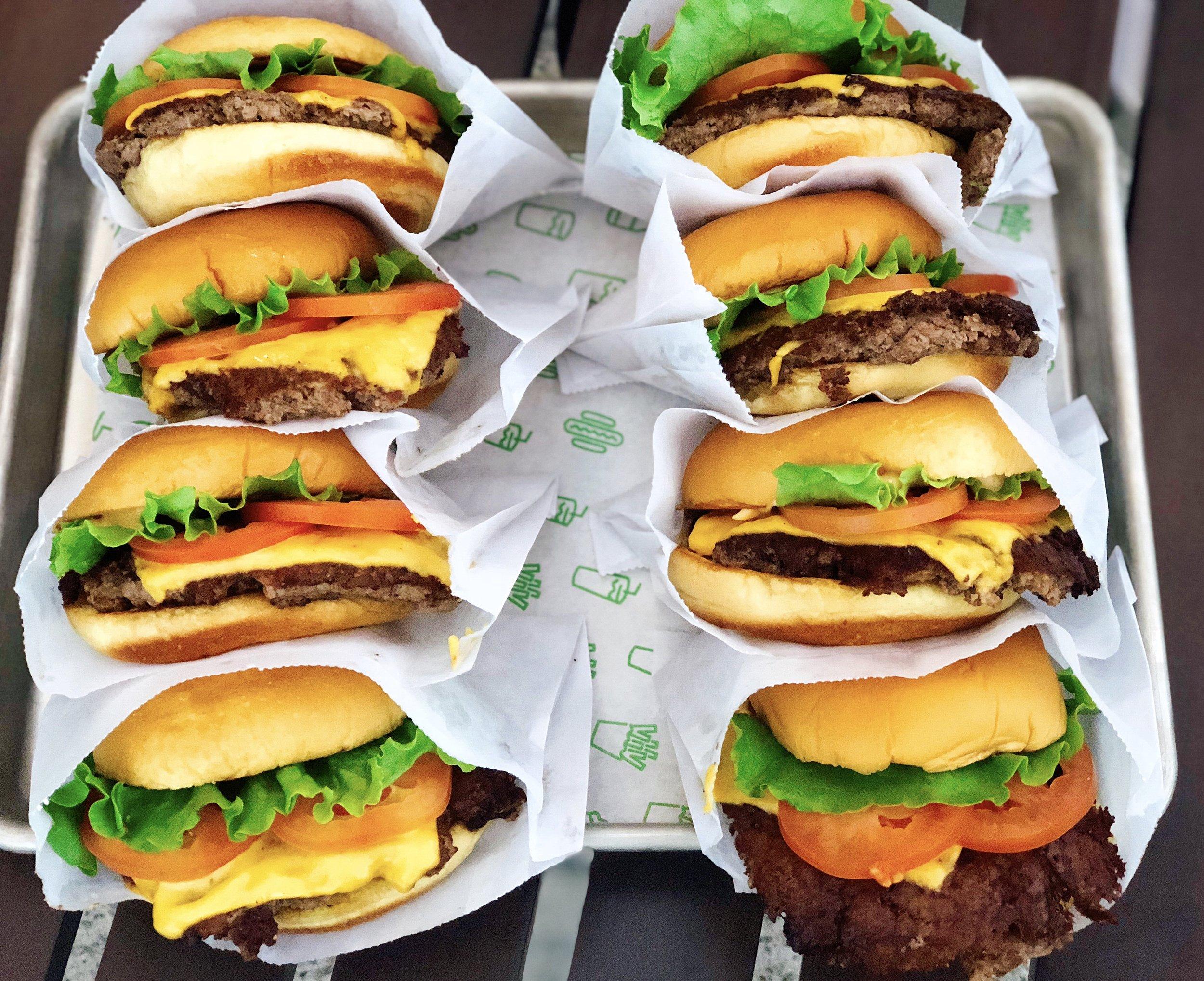 A Tray Of Shackburgers- Be Still My Heart