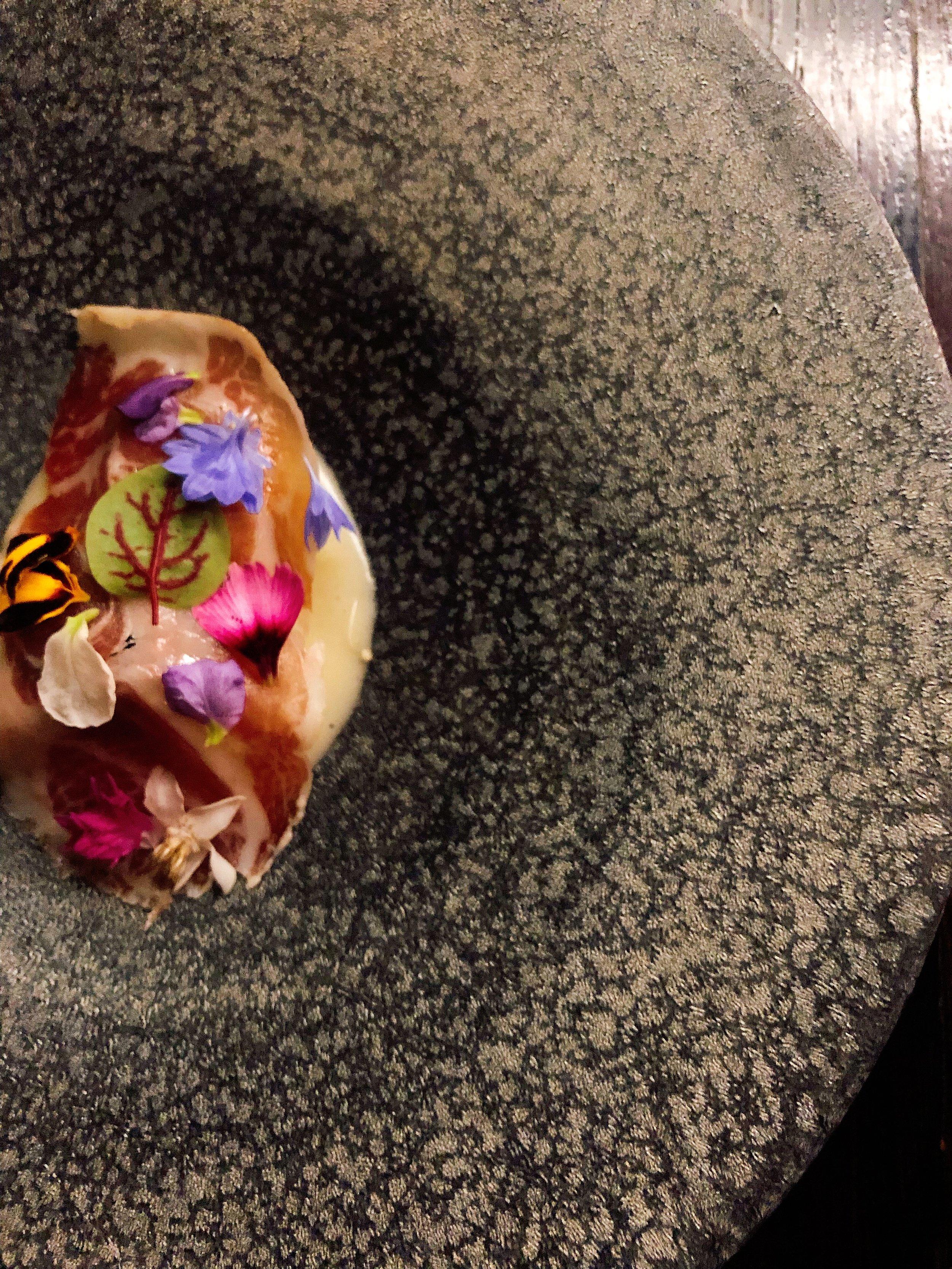 Smoked Marbled Potatoes + Osetra Caviar + Catbird Cured Coppa