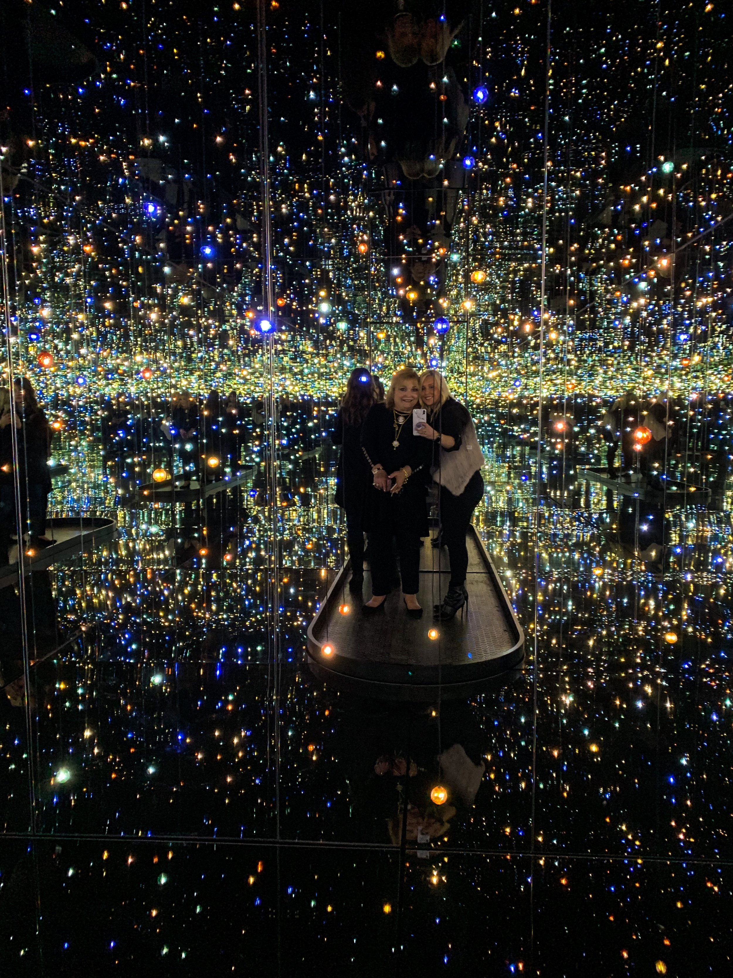 Infinity Mirrored Room- The Souls Of Millions Of Light Years Away, 2013