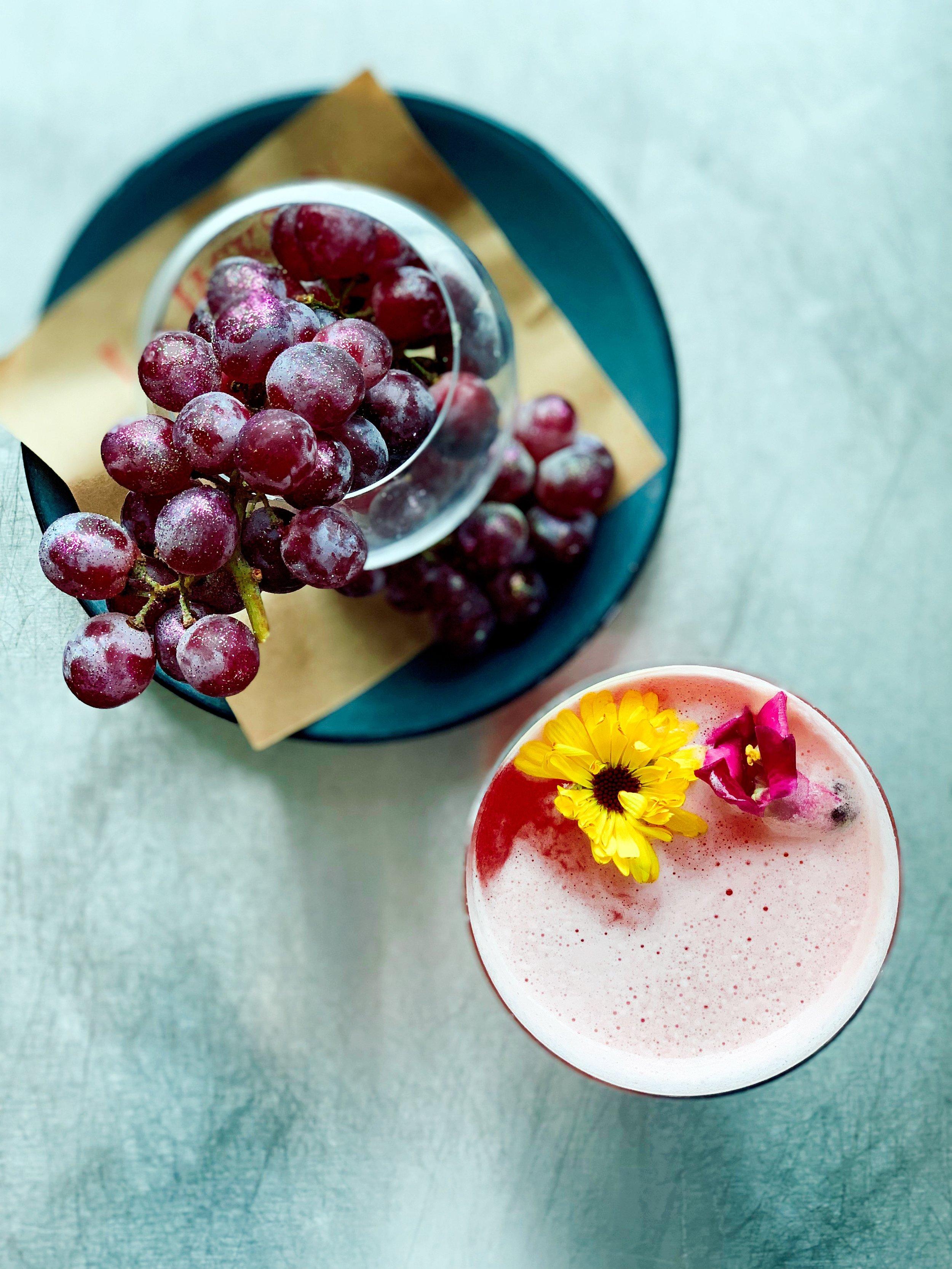 Glitter Grapes + Kimberly Hart