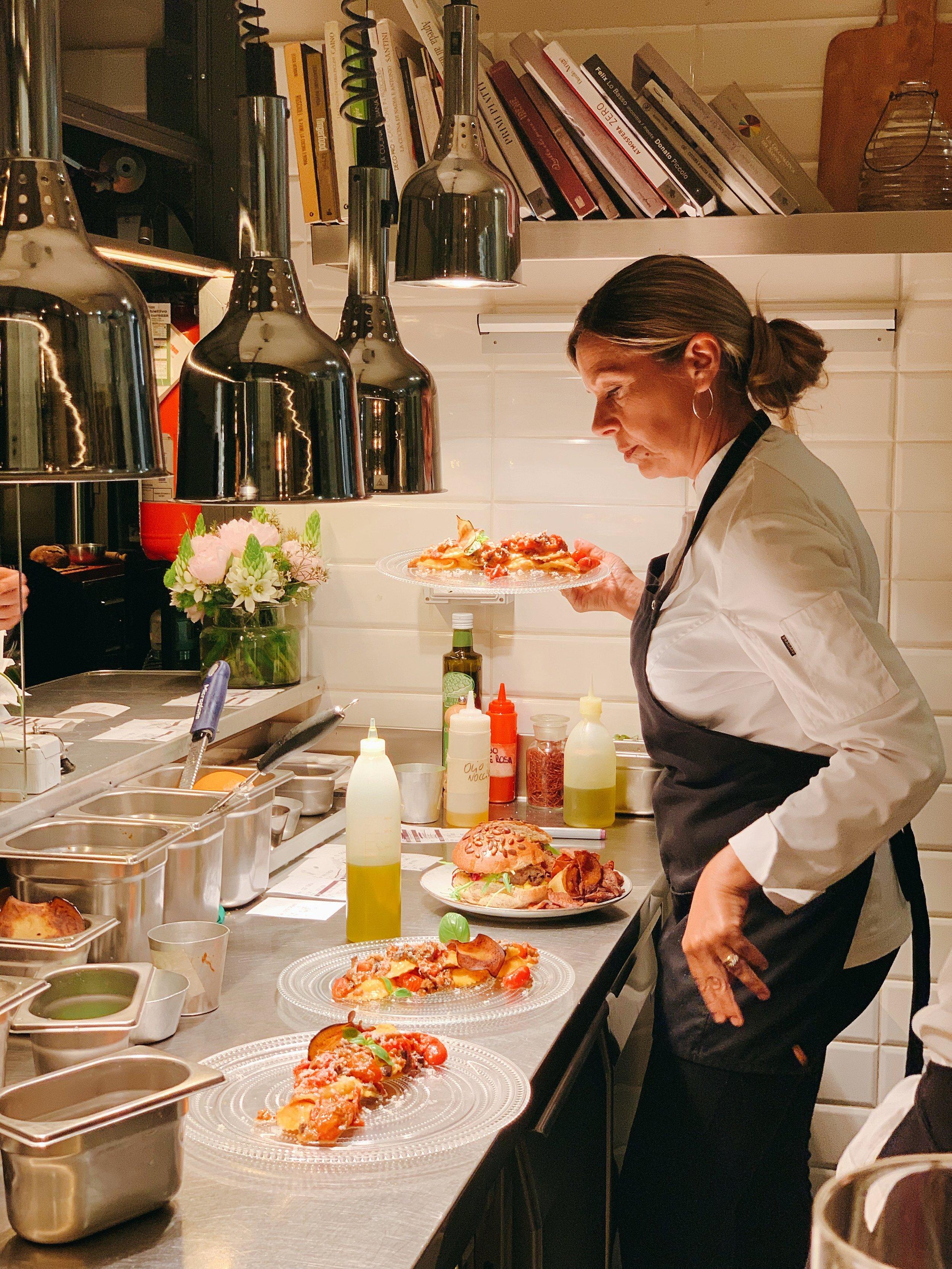 Paola Colucci, Chef Of Pianostrada