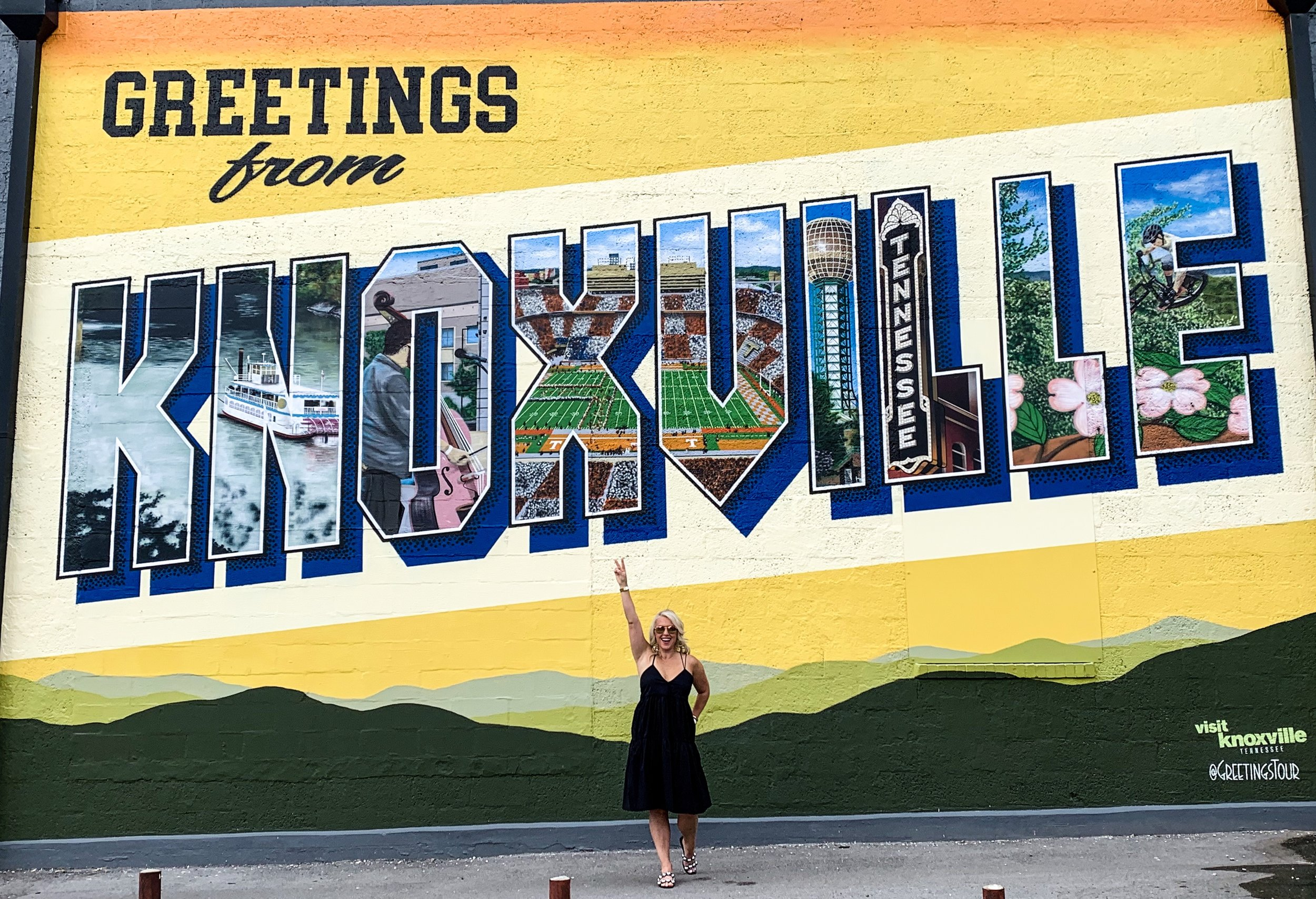 Greeting From Knoxville, Tennessee