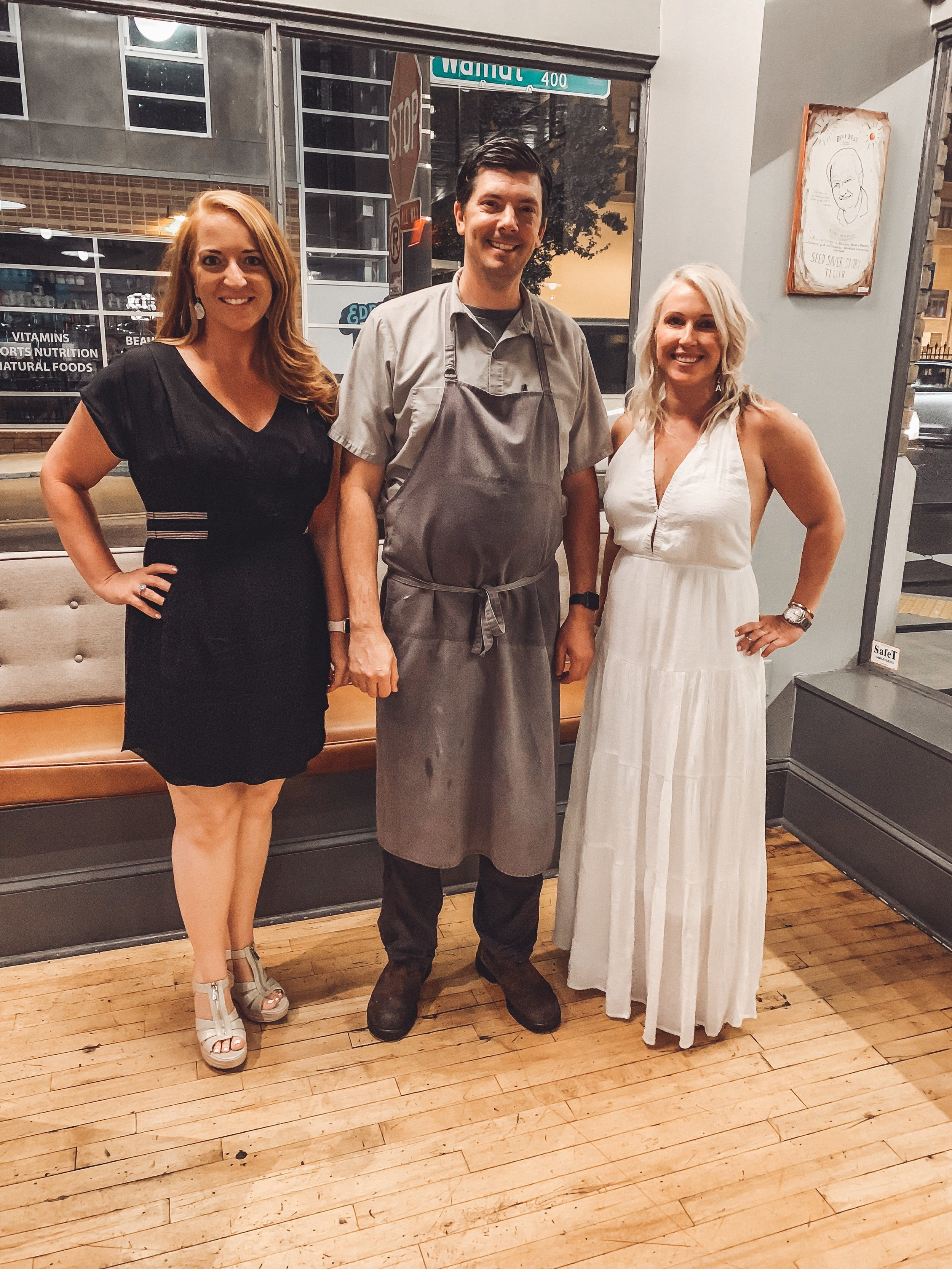 Moments Before I Convincingly Asked Chef Joseph Lenn To Open A Second Location In Nashville