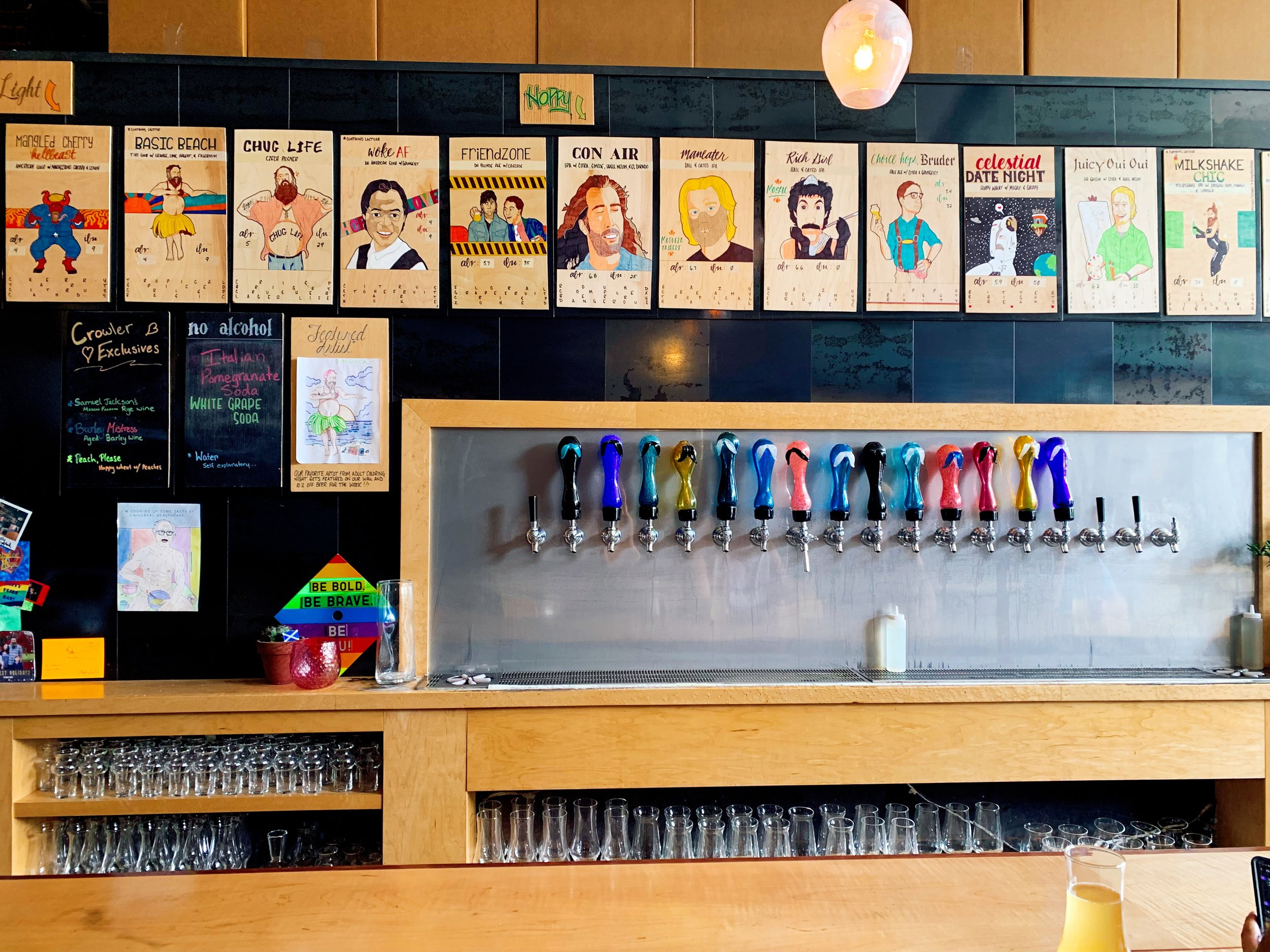 Check Out These Custom Taps!