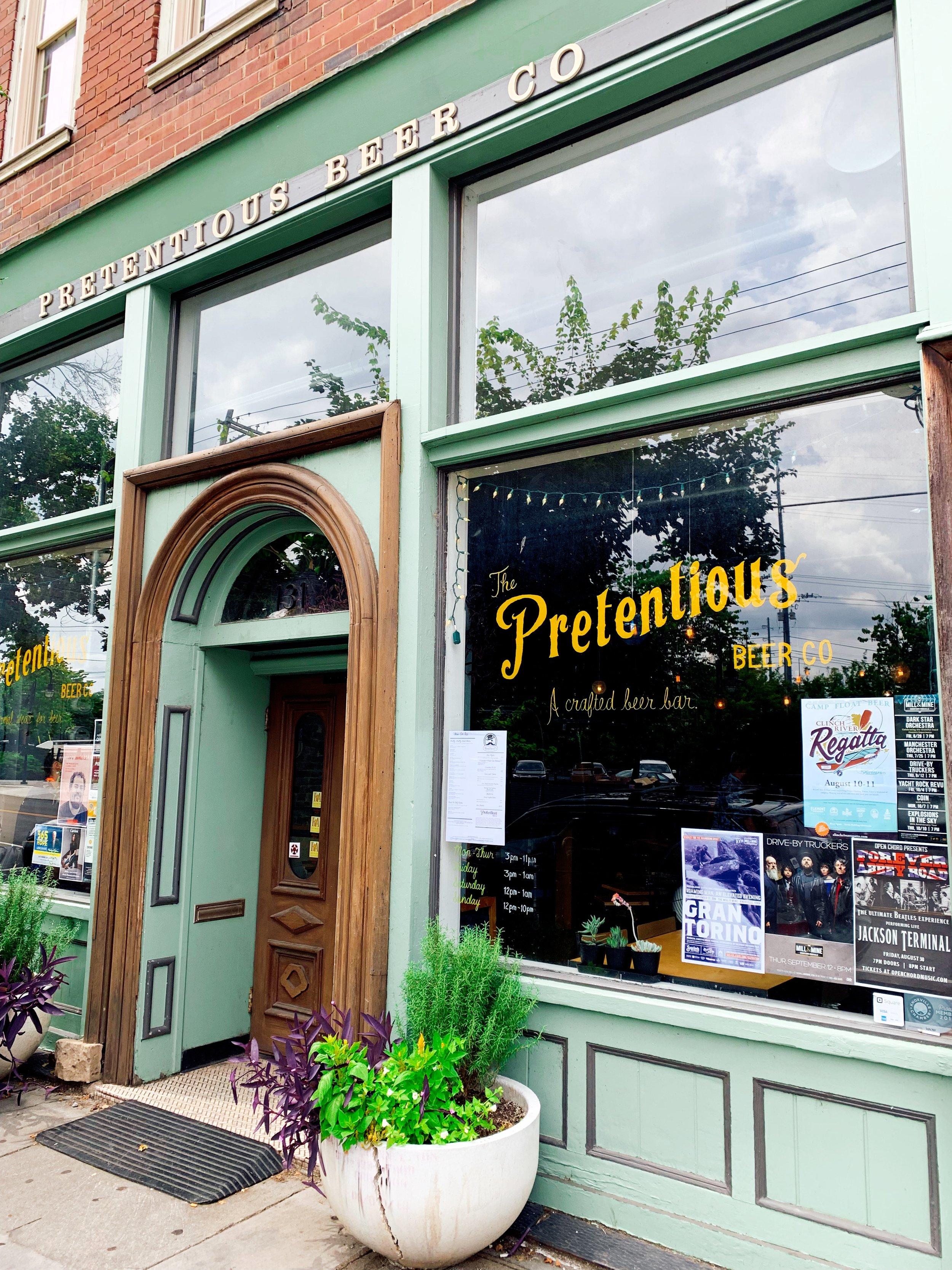Facade Of Pretentious Beer Company