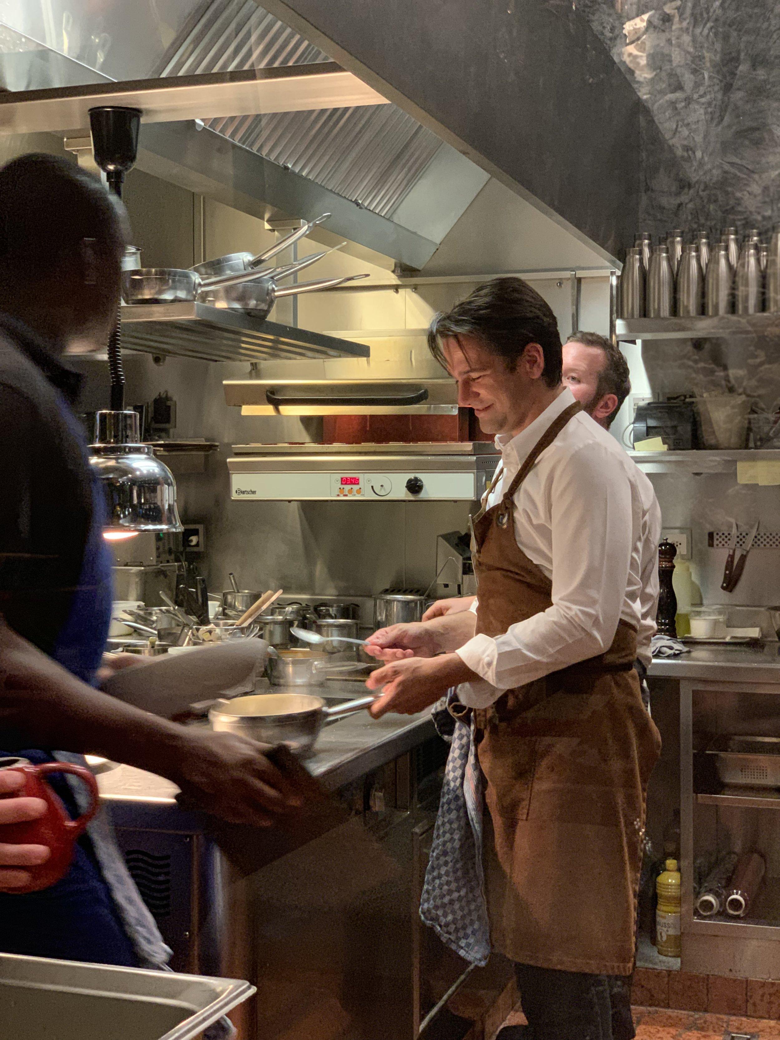 Chef Yoann Caloué