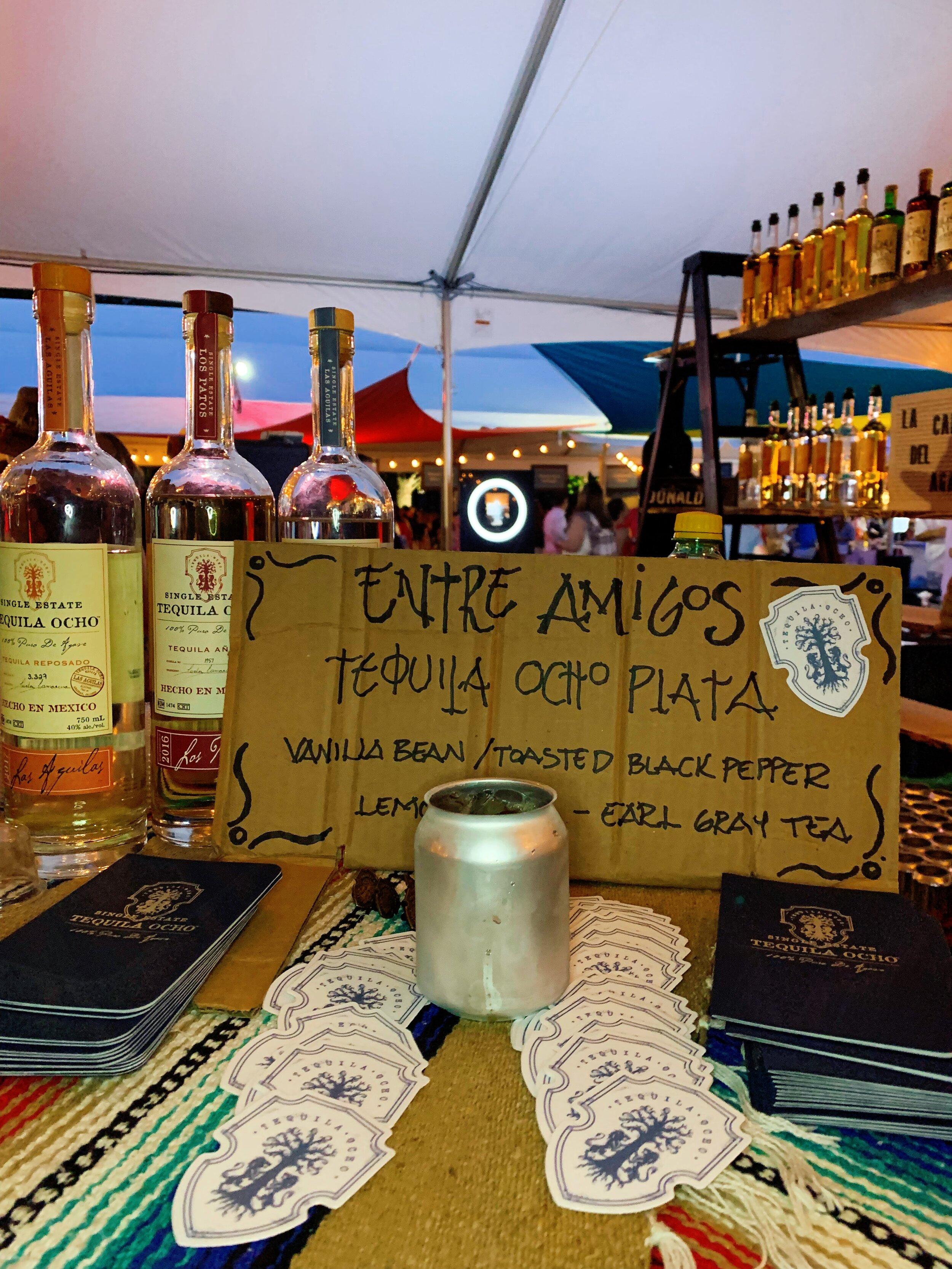 Entre Amigos | Tequila Ocho Plata + Vanilla Bean + Toasted Black Pepper + Lemon + Earl Gray Tea