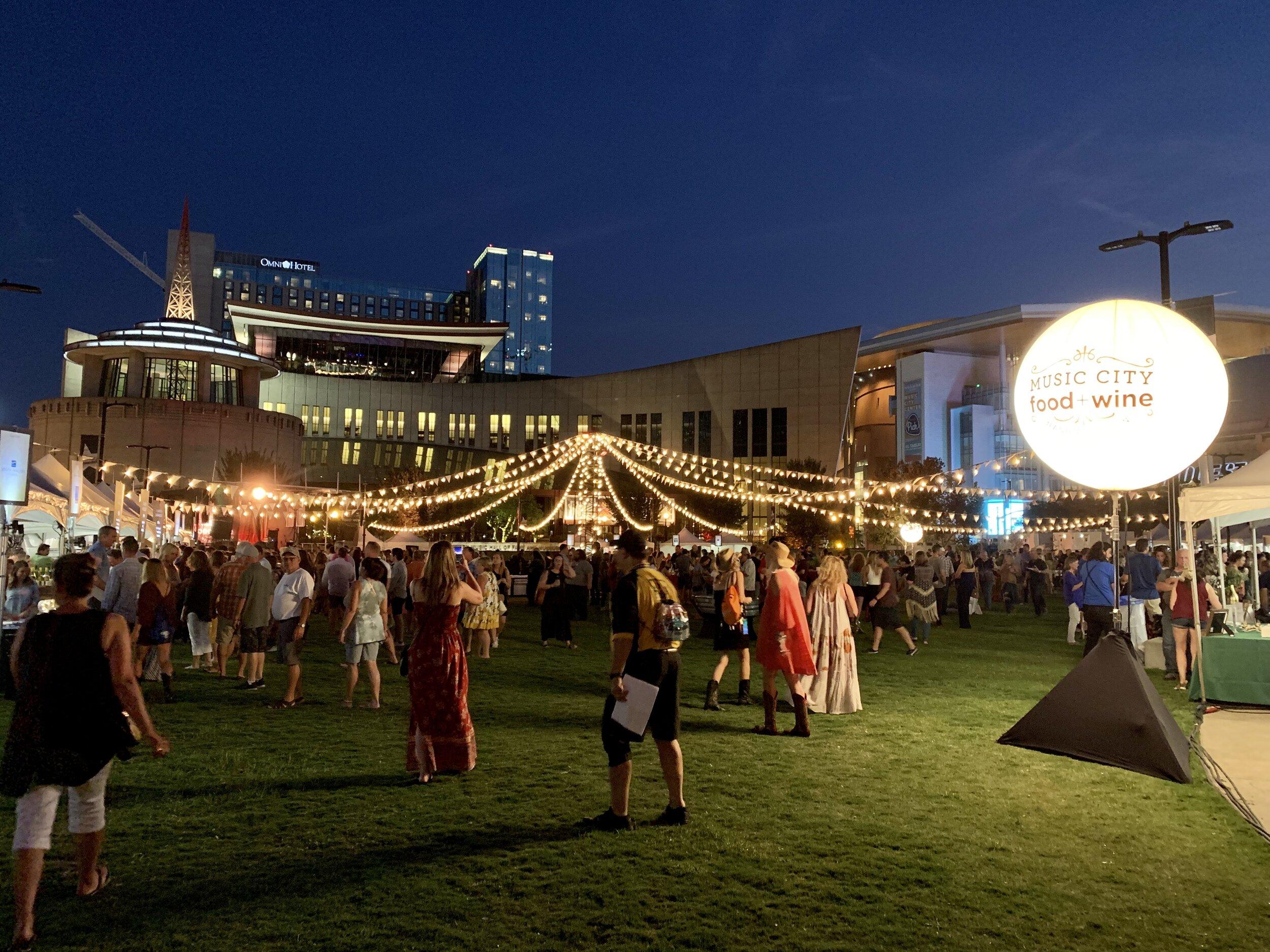 Music City Food And Wine | Harvest Night