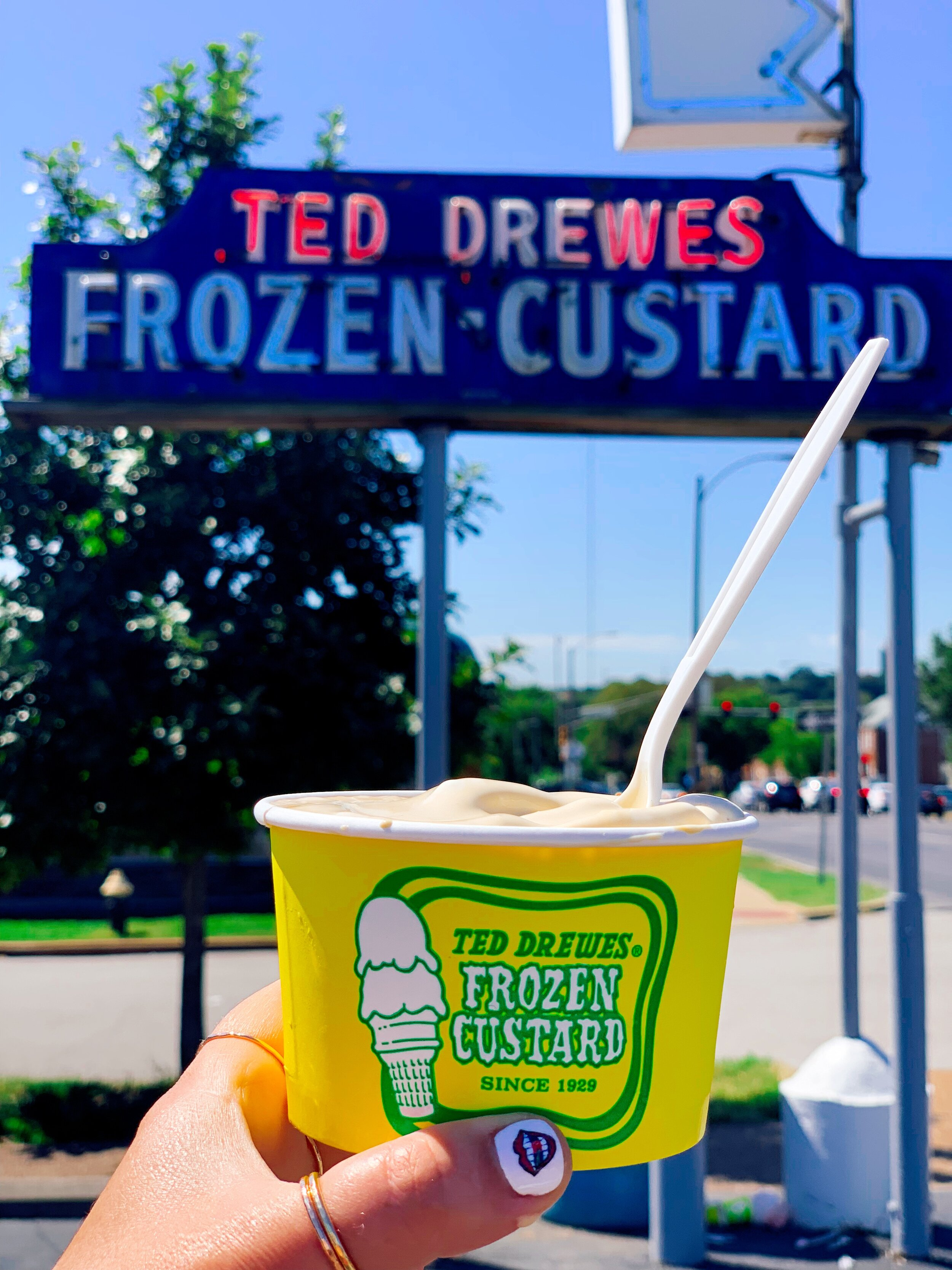 Ted Drewes Salted Caramel Frozen Custard