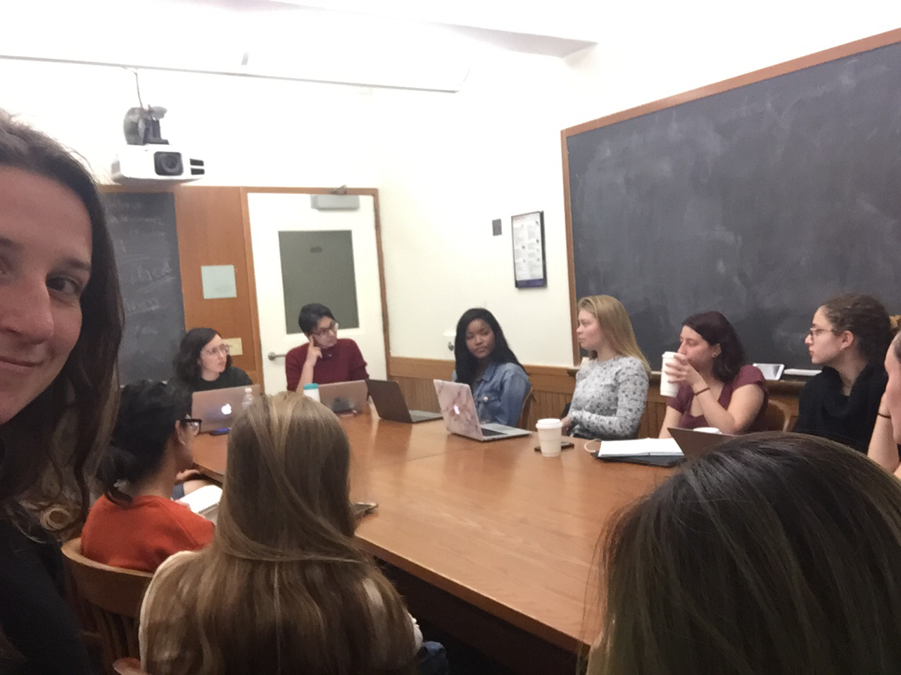 A quick photo from a Human Rights Center meeting!