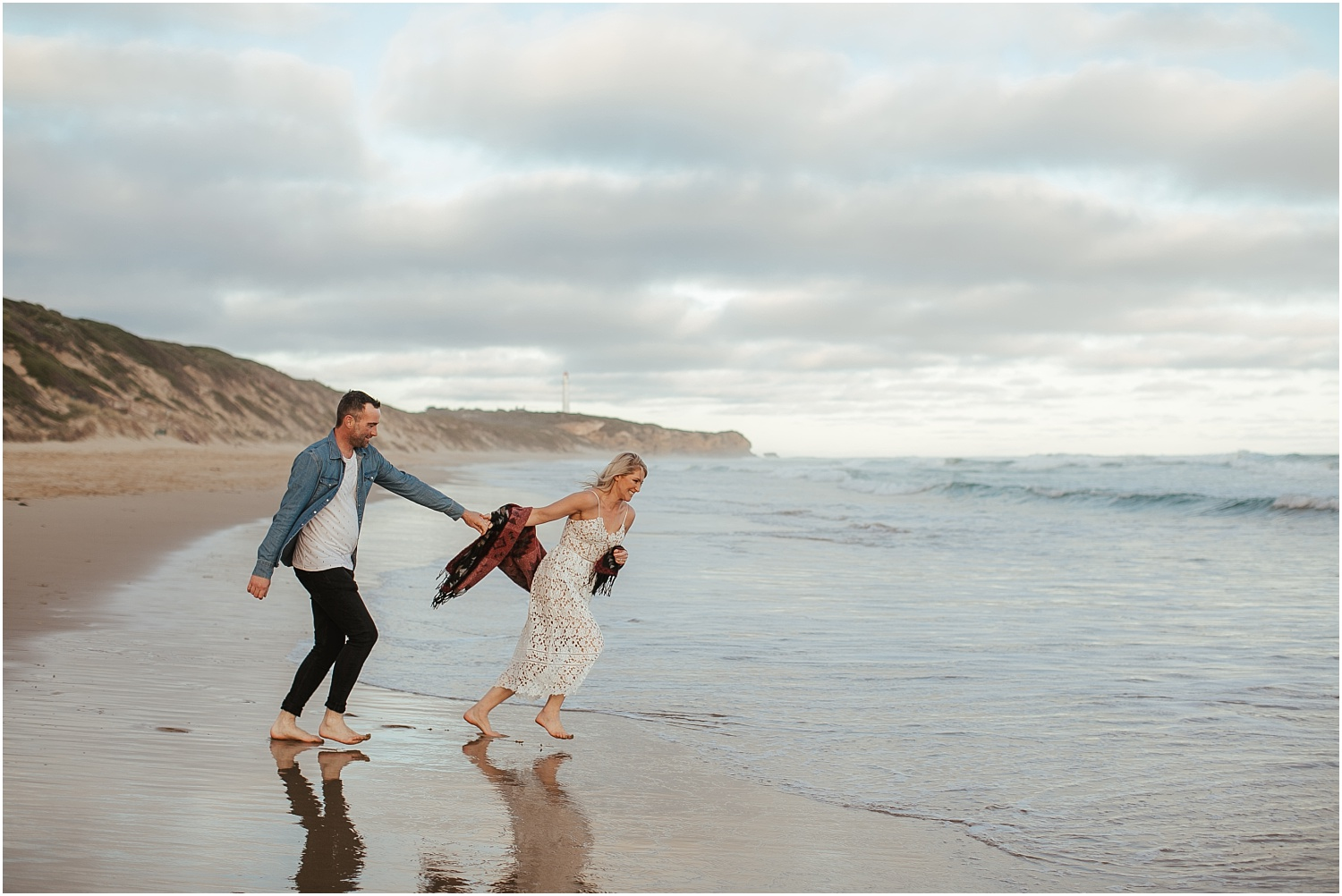 Greer and Sam's engagement shoot in Aireys Inlet on the Great Ocean Road, surf coast and Fairhaven._0027.jpg