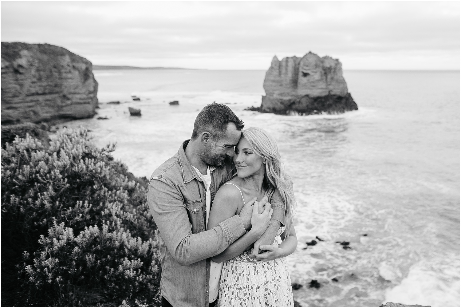 Greer and Sam's engagement shoot in Aireys Inlet on the Great Ocean Road, surf coast and Fairhaven._0051.jpg