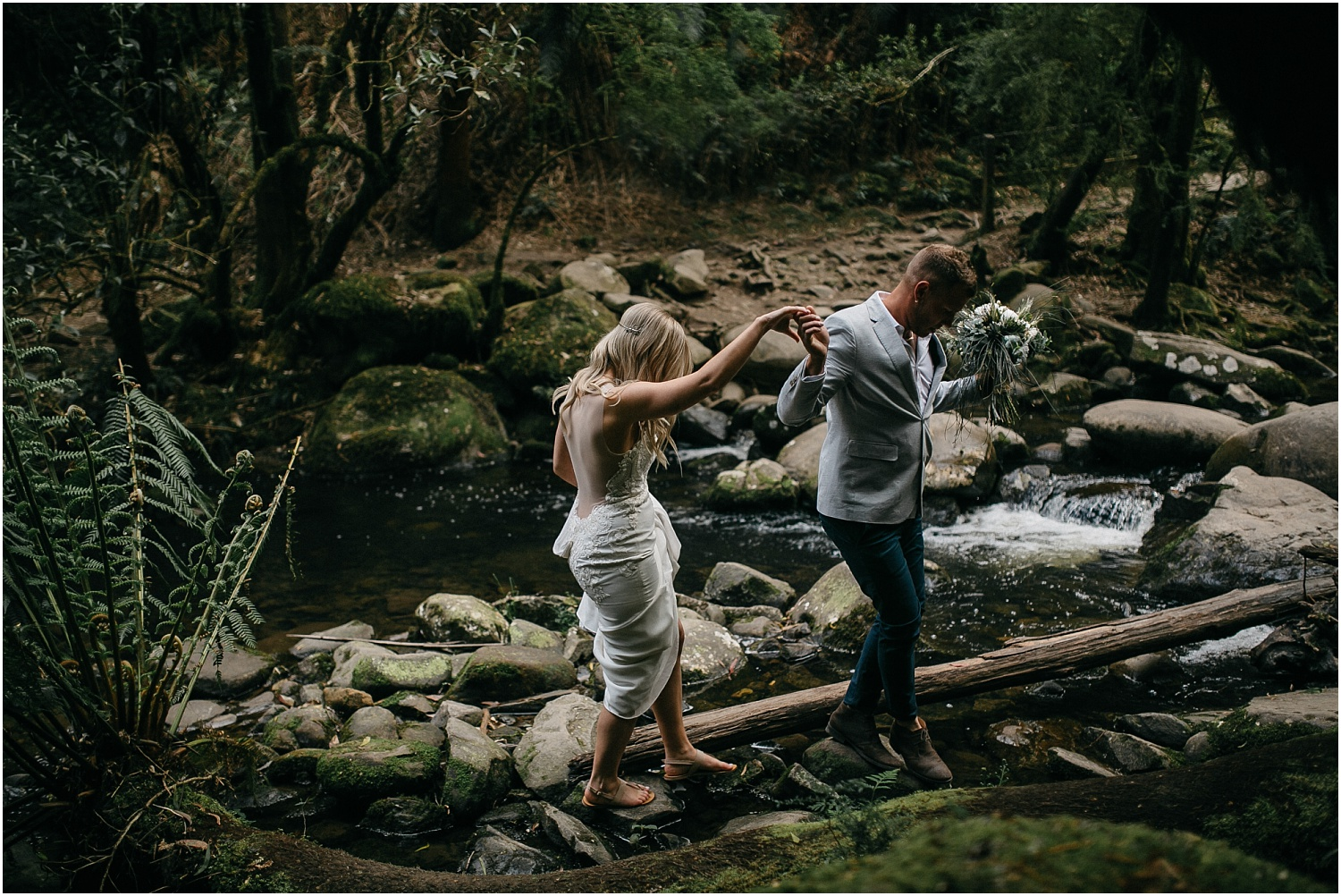 Renee and Ash's real elopement in Lorne on the Great Ocean Roadwith the ceremony at erskin falls._0090.jpg