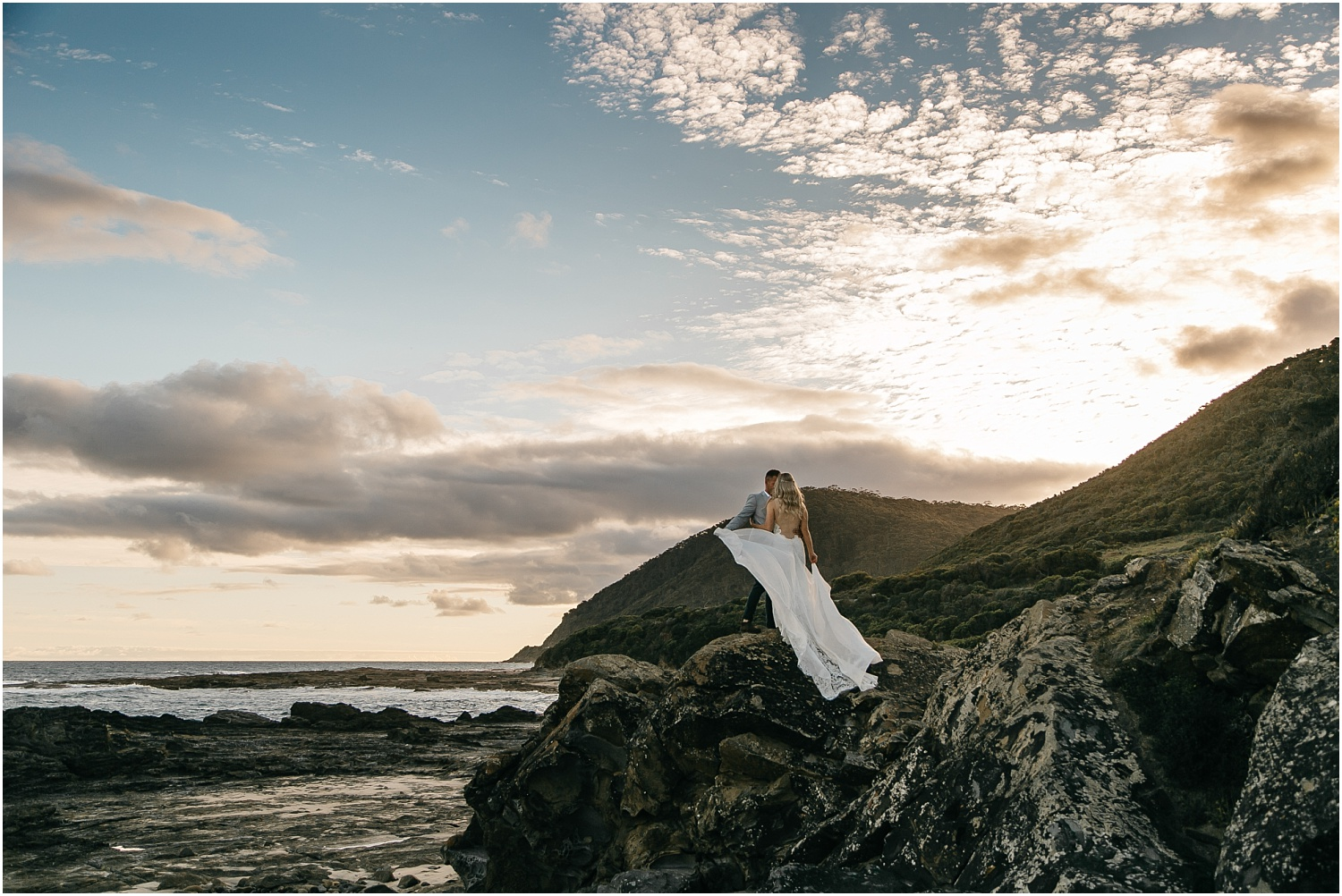 Renee and Ash's real elopement in Lorne on the Great Ocean Roadwith the ceremony at erskin falls._0107.jpg