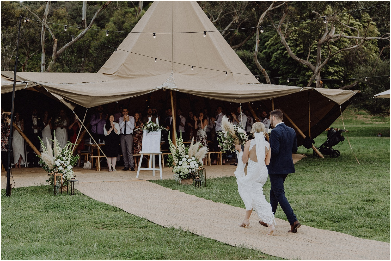 Nicolle and Damien's tipi wedding at the Flinders Yacht Club on the Mornington Peninsula._0160.jpg