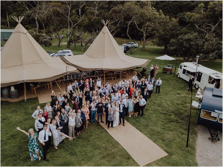 Nicolle and Damien's tipi wedding at the Flinders Yacht Club on the Mornington Peninsula._0163.jpg