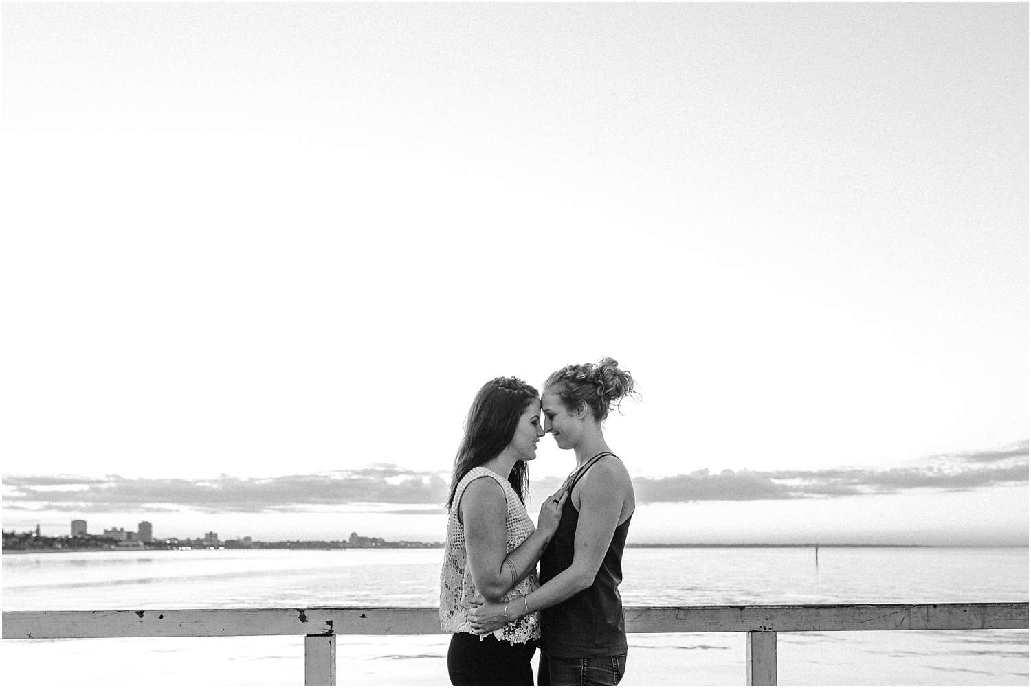 Kelsi and Lucy's sunrise proposal at Port Melbourne Lagoon Pier._0003.jpg