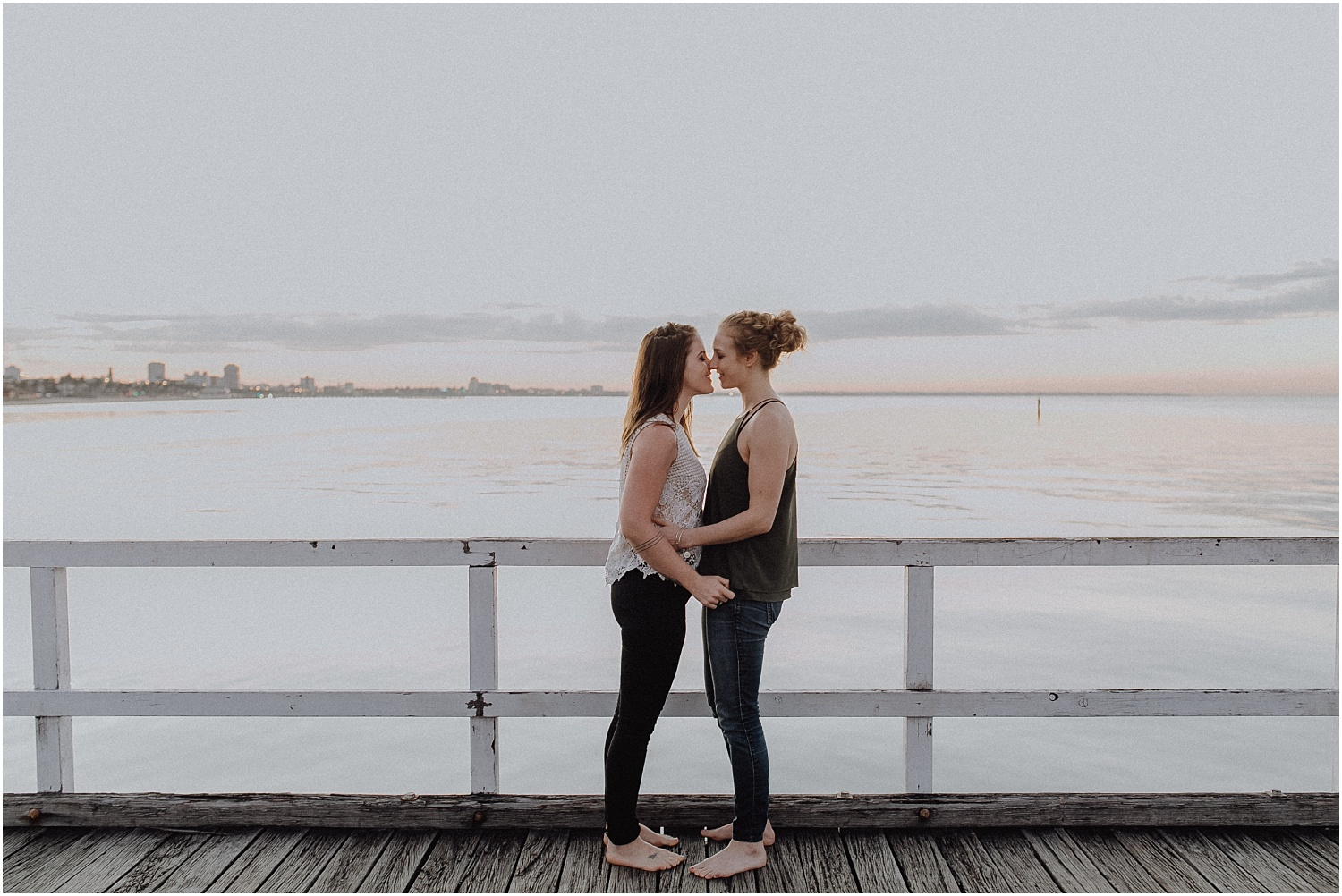 Kelsi and Lucy's sunrise proposal at Port Melbourne Lagoon Pier._0004.jpg