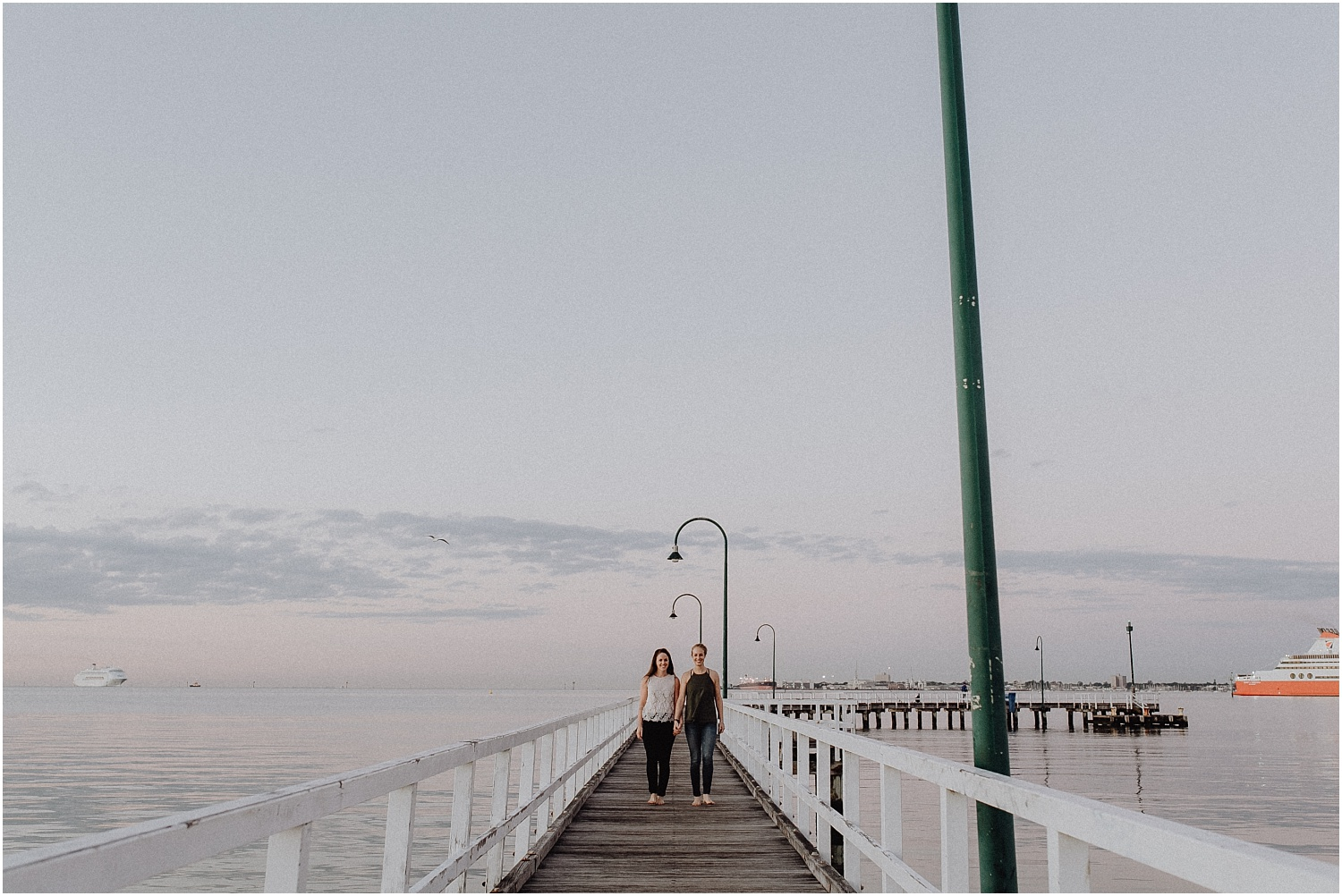 Kelsi and Lucy's sunrise proposal at Port Melbourne Lagoon Pier._0005.jpg