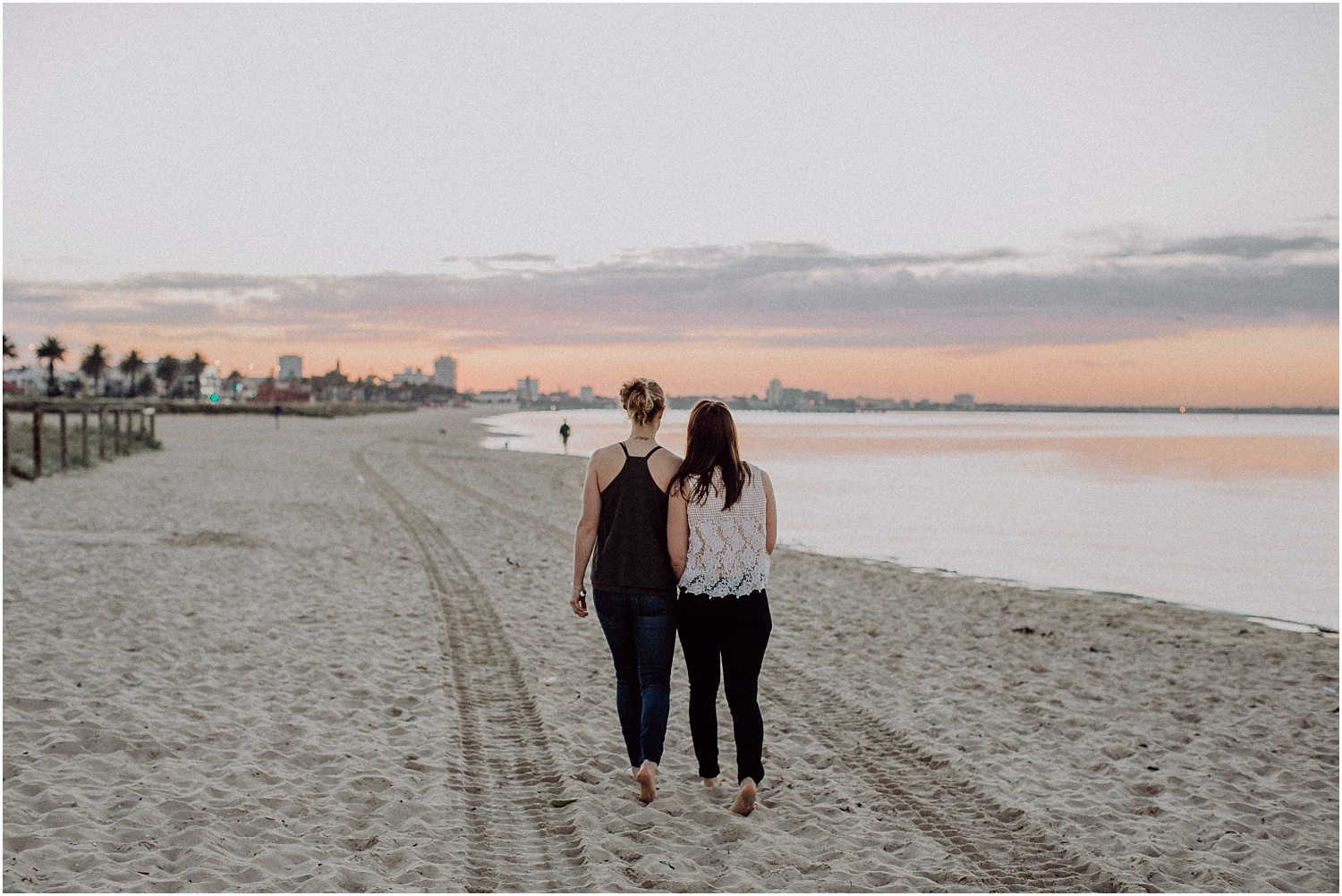Kelsi and Lucy's sunrise proposal at Port Melbourne Lagoon Pier._0013.jpg