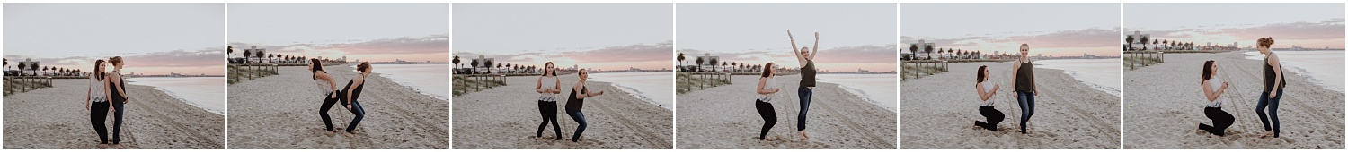 Kelsi and Lucy's sunrise proposal at Port Melbourne Lagoon Pier._0021.jpg