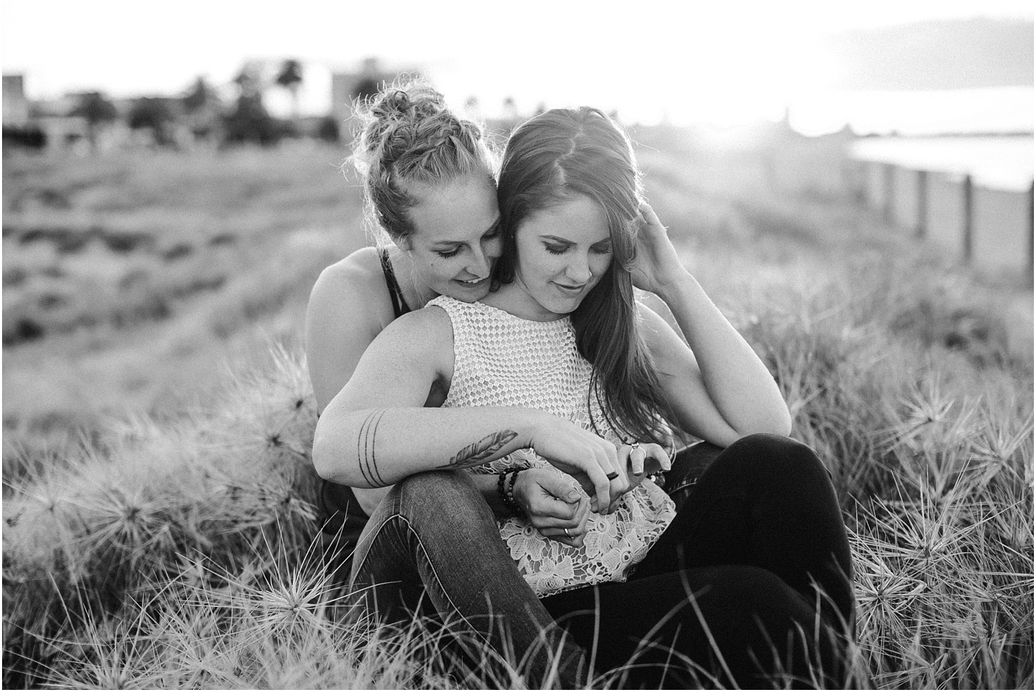 Kelsi and Lucy's sunrise proposal at Port Melbourne Lagoon Pier._0051.jpg