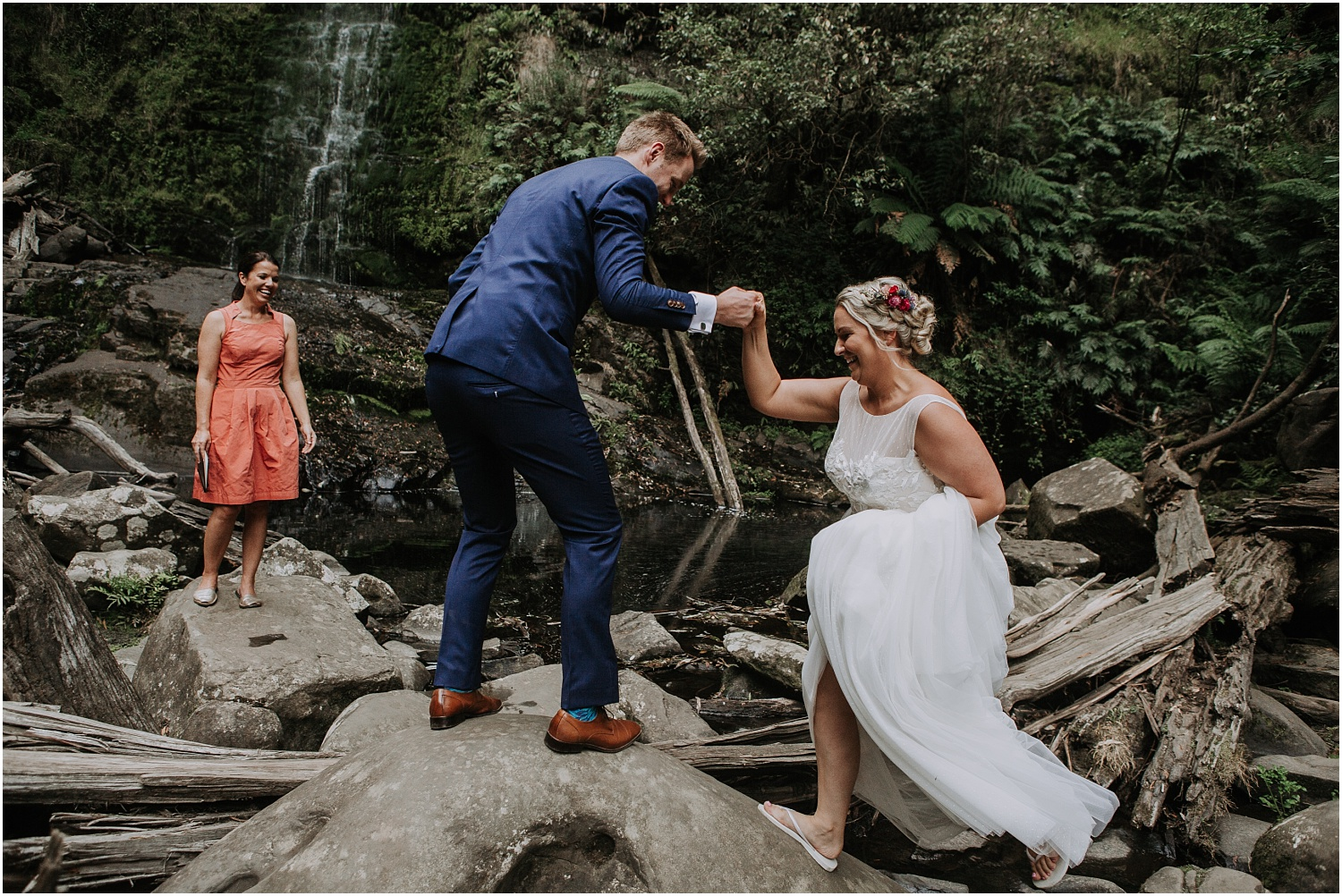 Ainslee and Warwick's elopement at Erskin Falls and the Lorne Beach Pavilion on the Great Ocean Road._0047.jpg