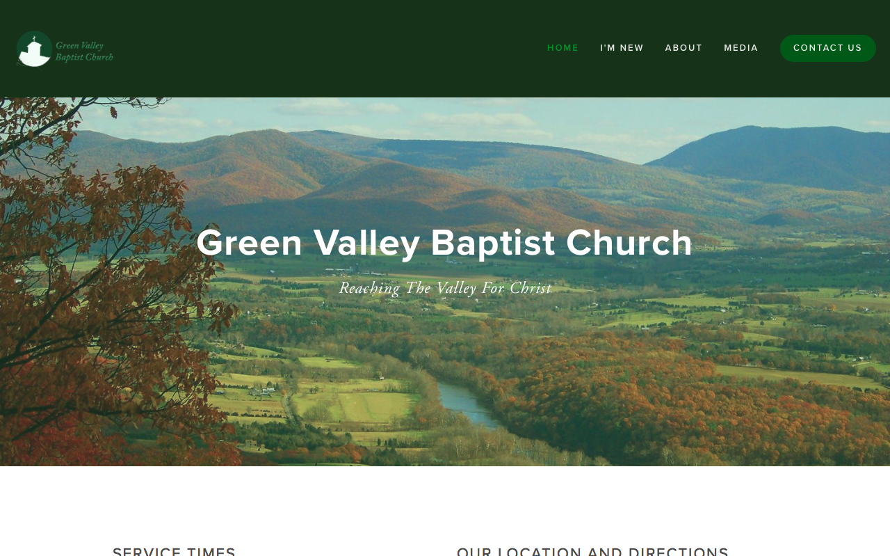 Copy of Copy of Green Valley Baptist Church