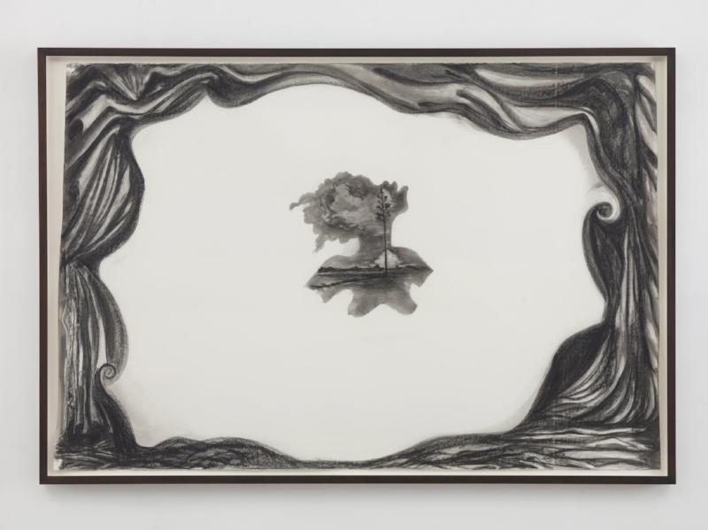 Submission , 2016. Kara Walker (American, born 1969). Graphite lumber marker on paper; 153 x 229.9 cm. © Kara Walker, courtesy of Sikkema Jenkins & Co., New York.