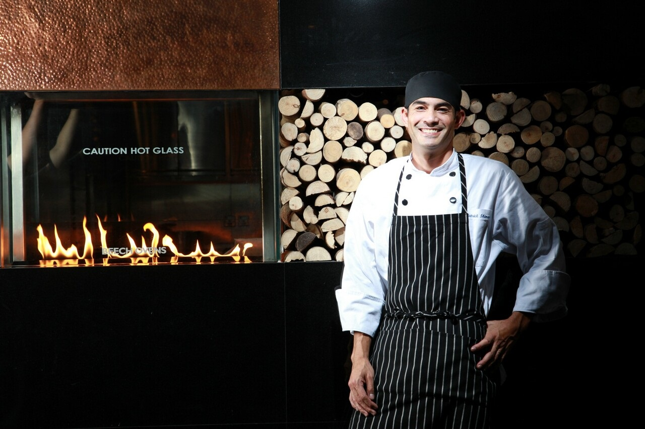 Patrick Shimada - Born: CaliforniaClaims to fame: Grand Hyatt Hong KongSpecialty cuisine: Home-style comfort foodFavourite ingredient: Seafood