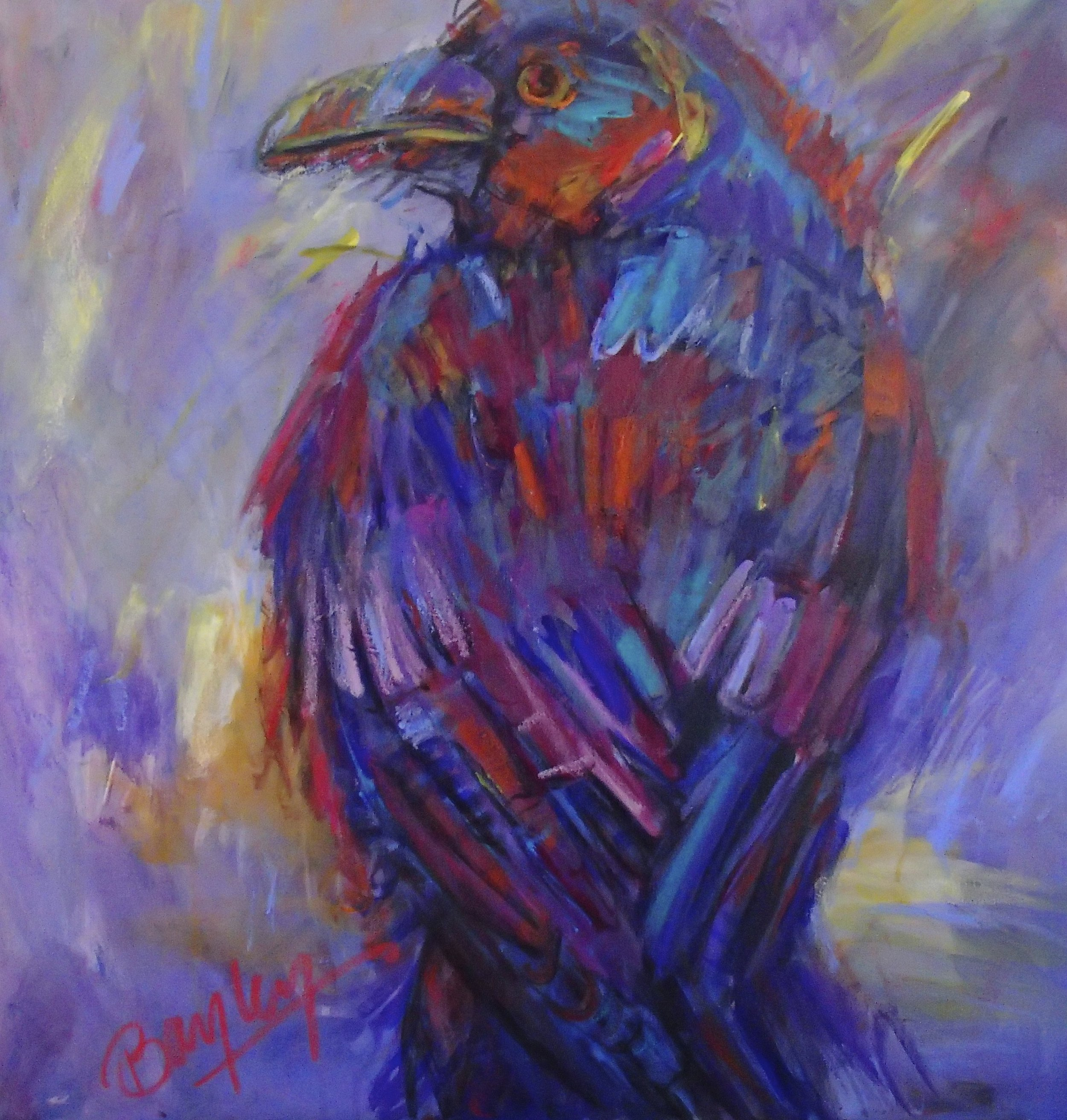 Crows of Colour - Purple Crow.jpg
