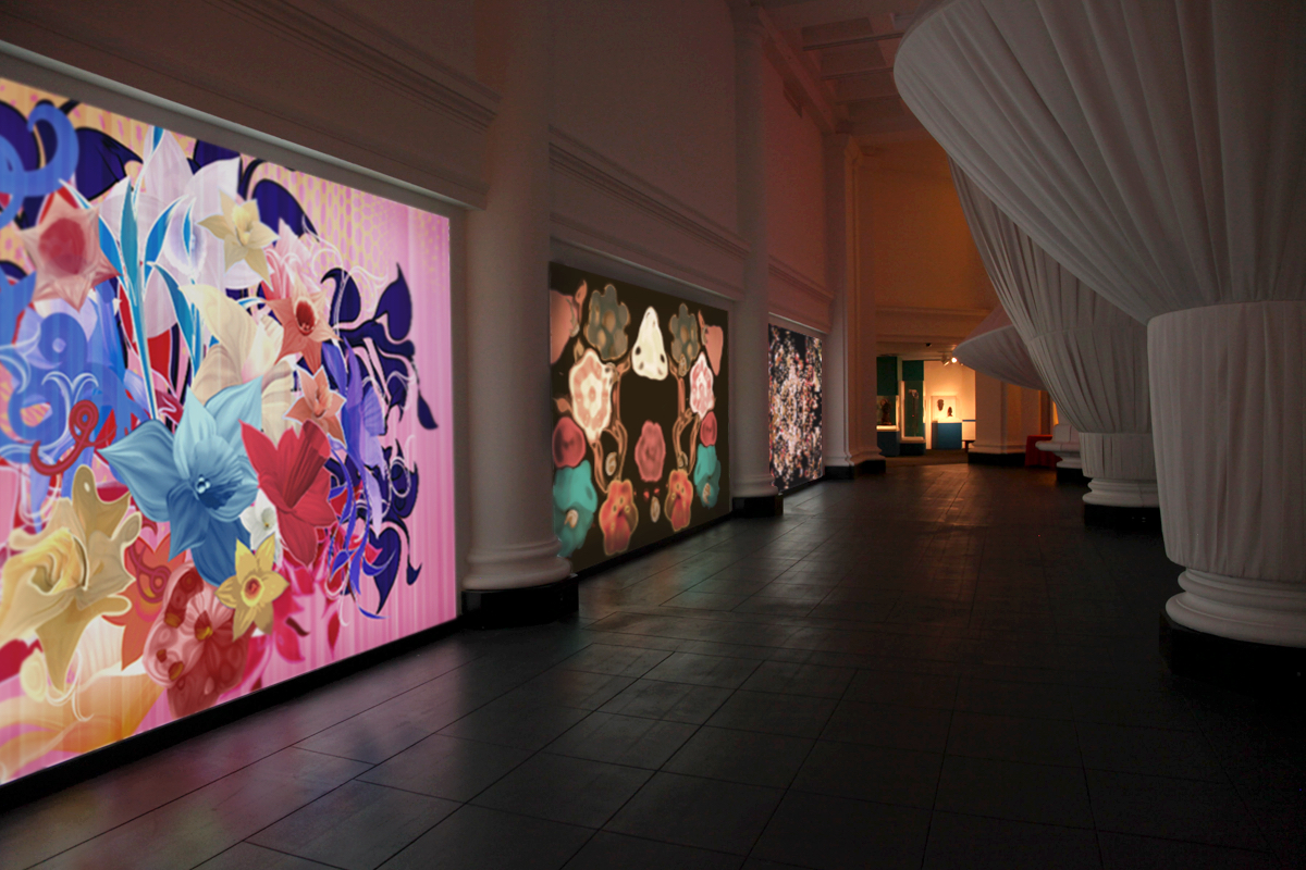 Pink Narcissus at the Brooklyn Museum, 2011