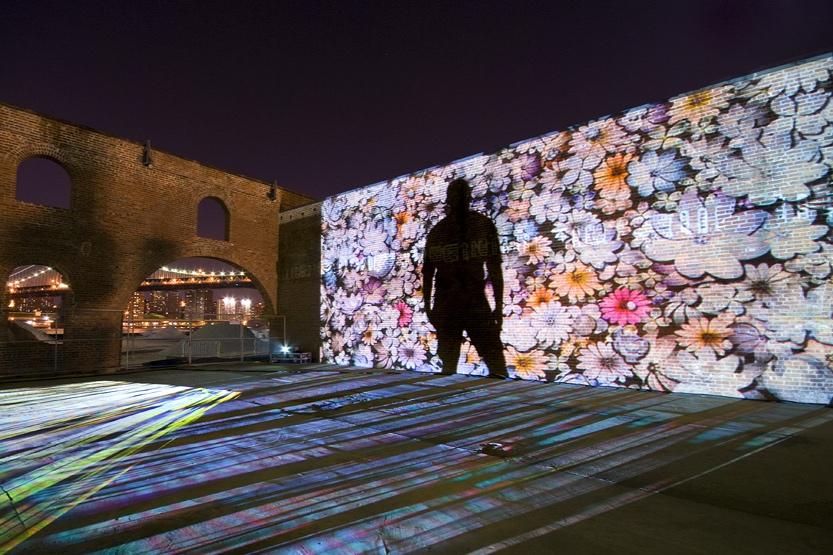 Floralwall | DUMBO Arts Fest