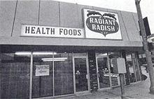 Brian Wilsons' Health Food Store Hollywood 1969