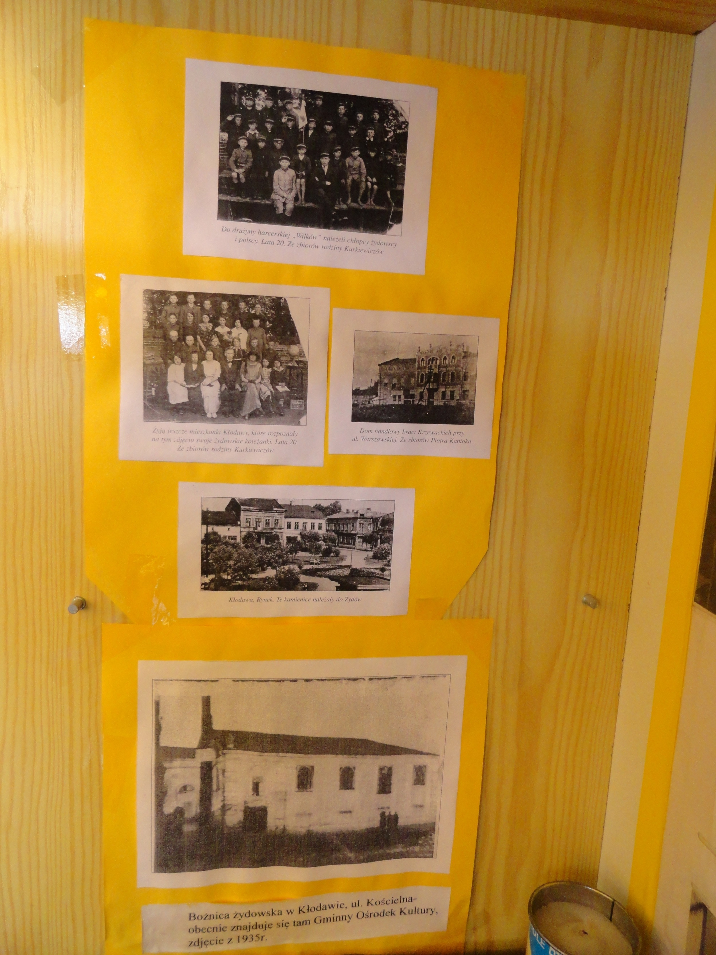 Pictures of Jewish and Christian children attending school together, 1920s? At bottom picture of synagogue.