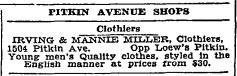 Pitkin Avenue Shops ad NYT 7 Nov 1934