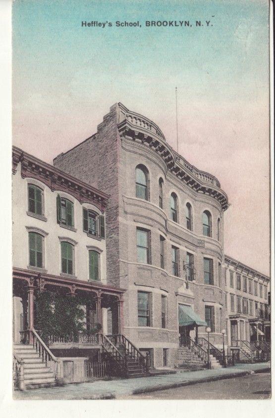 Harry Miller attended Heffley's School, Brooklyn