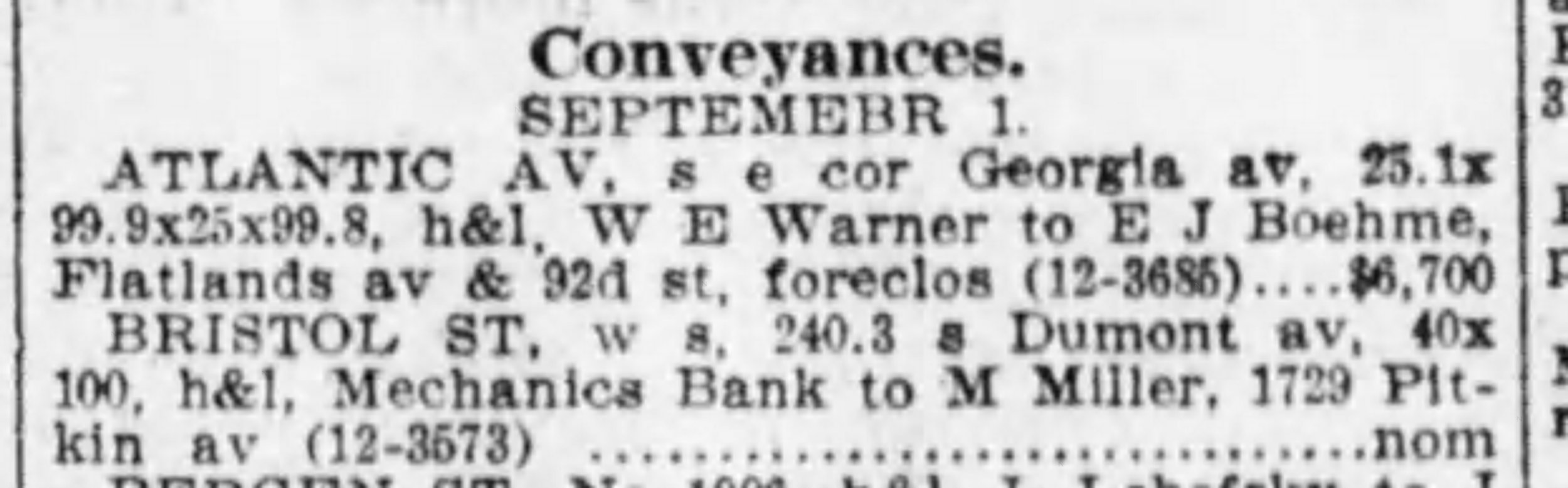 Brooklyn Daily Eagle 2 Sep 1914