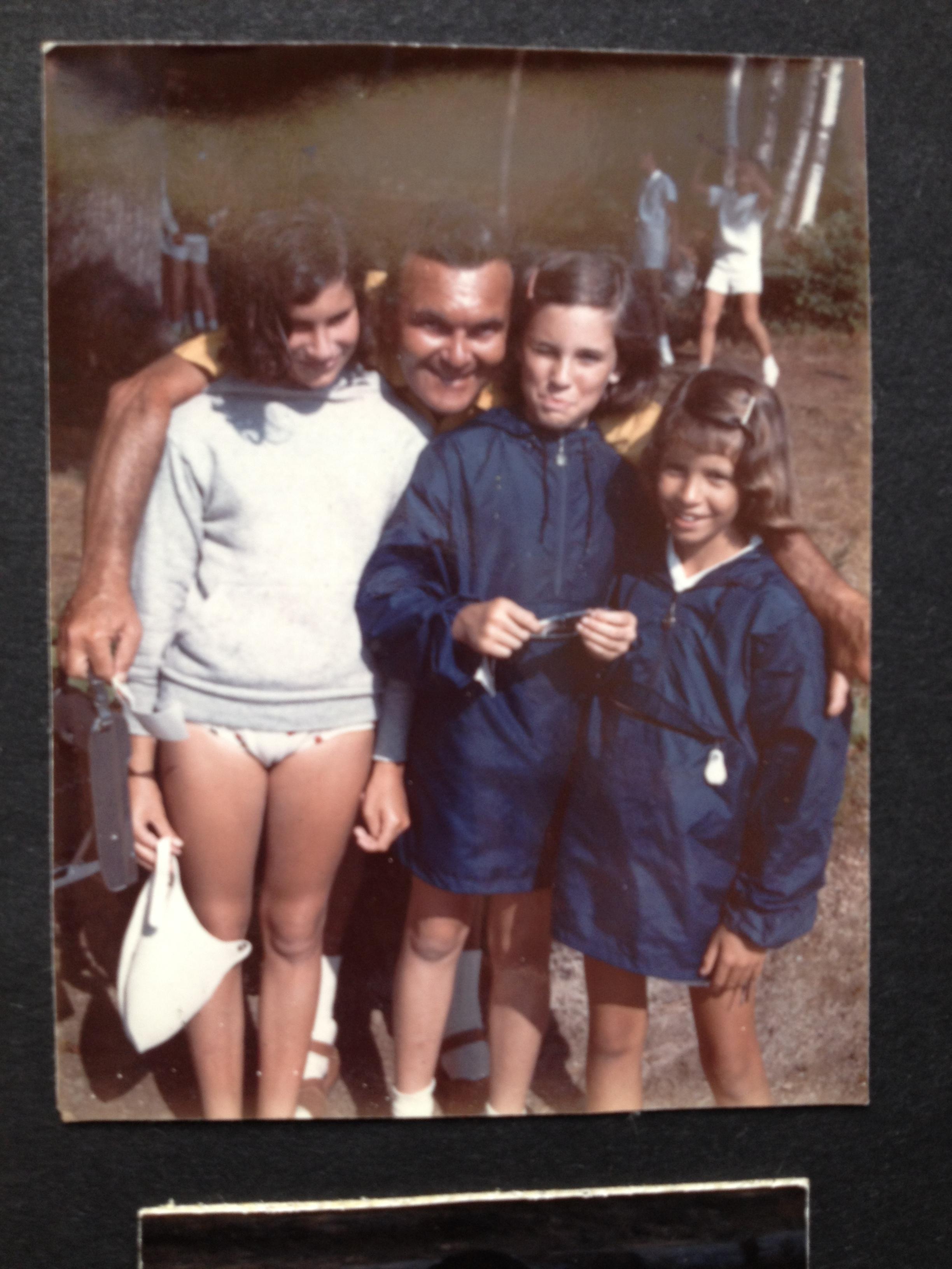 Si and Susan Miller with Kim Klausner and Karen Freedman at Camp Trebor in Maine