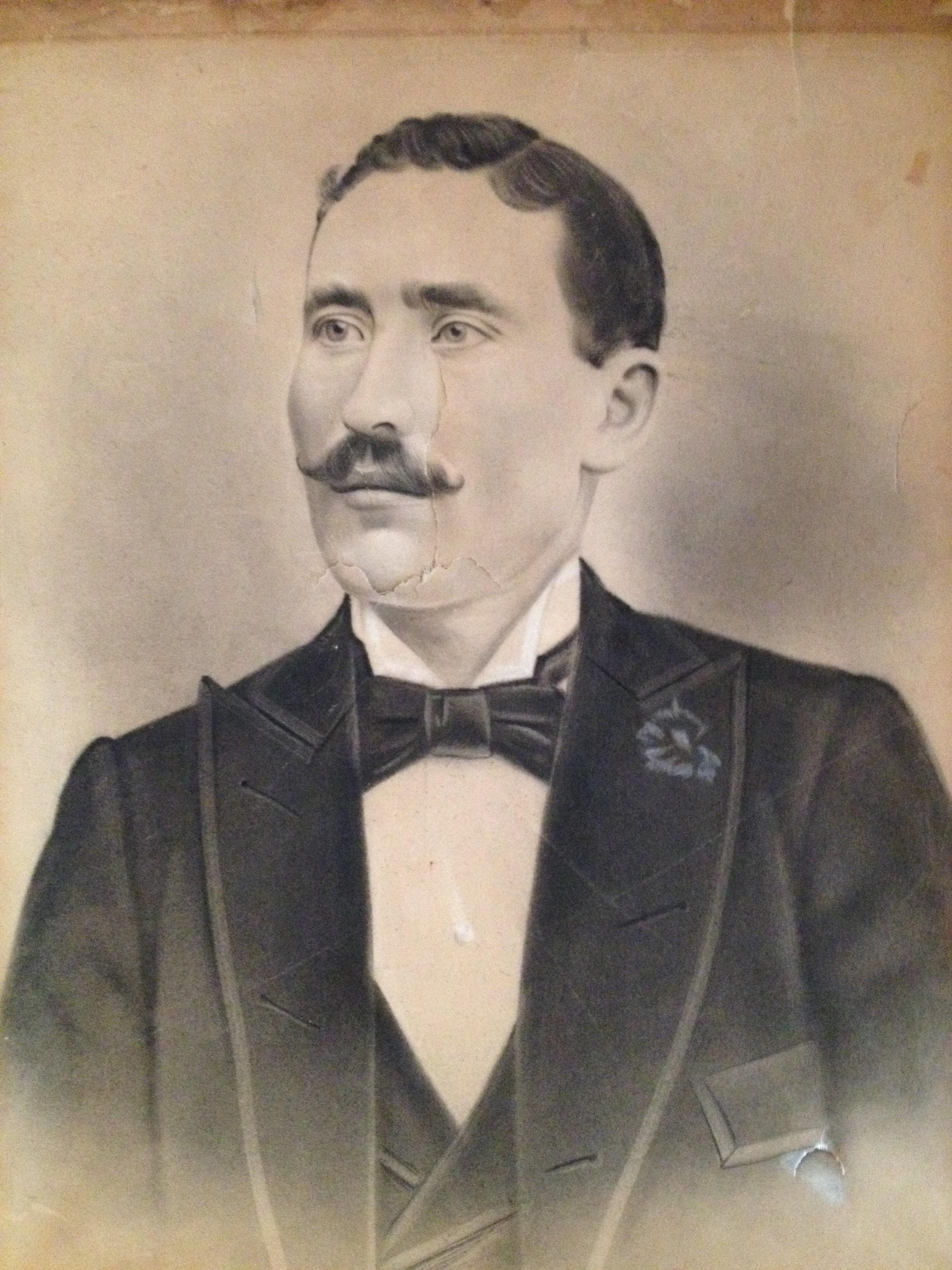 Portrait of Morris Miller