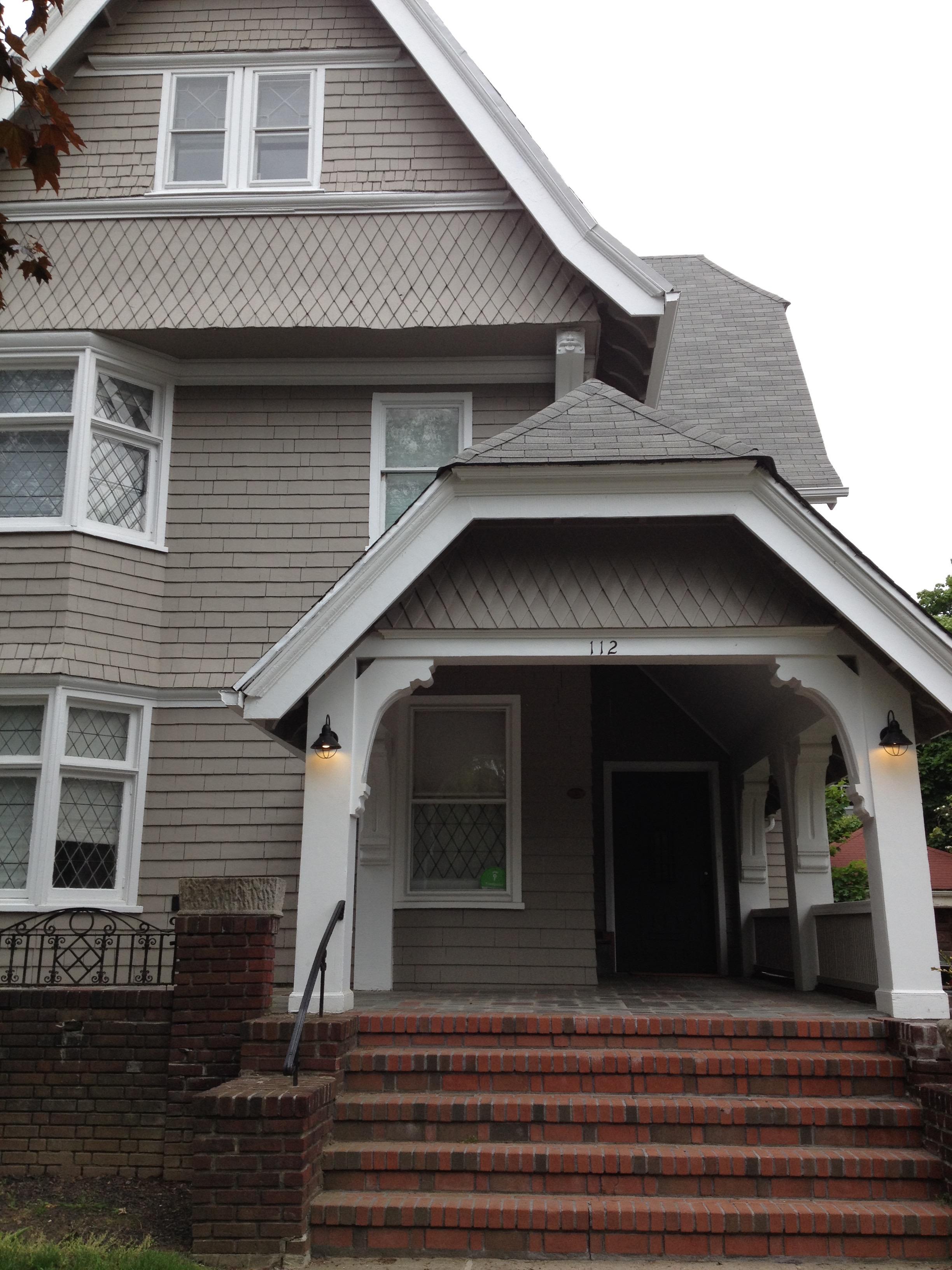Morris Miller home at 112 Marlborough Road, Flatbush, photo taken in 2016
