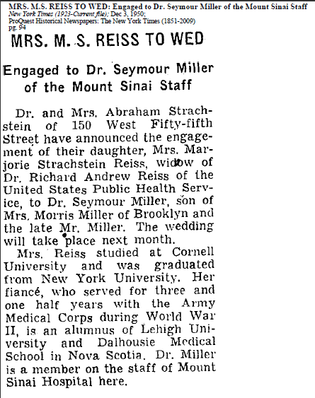 NYT 3 Dec 1950