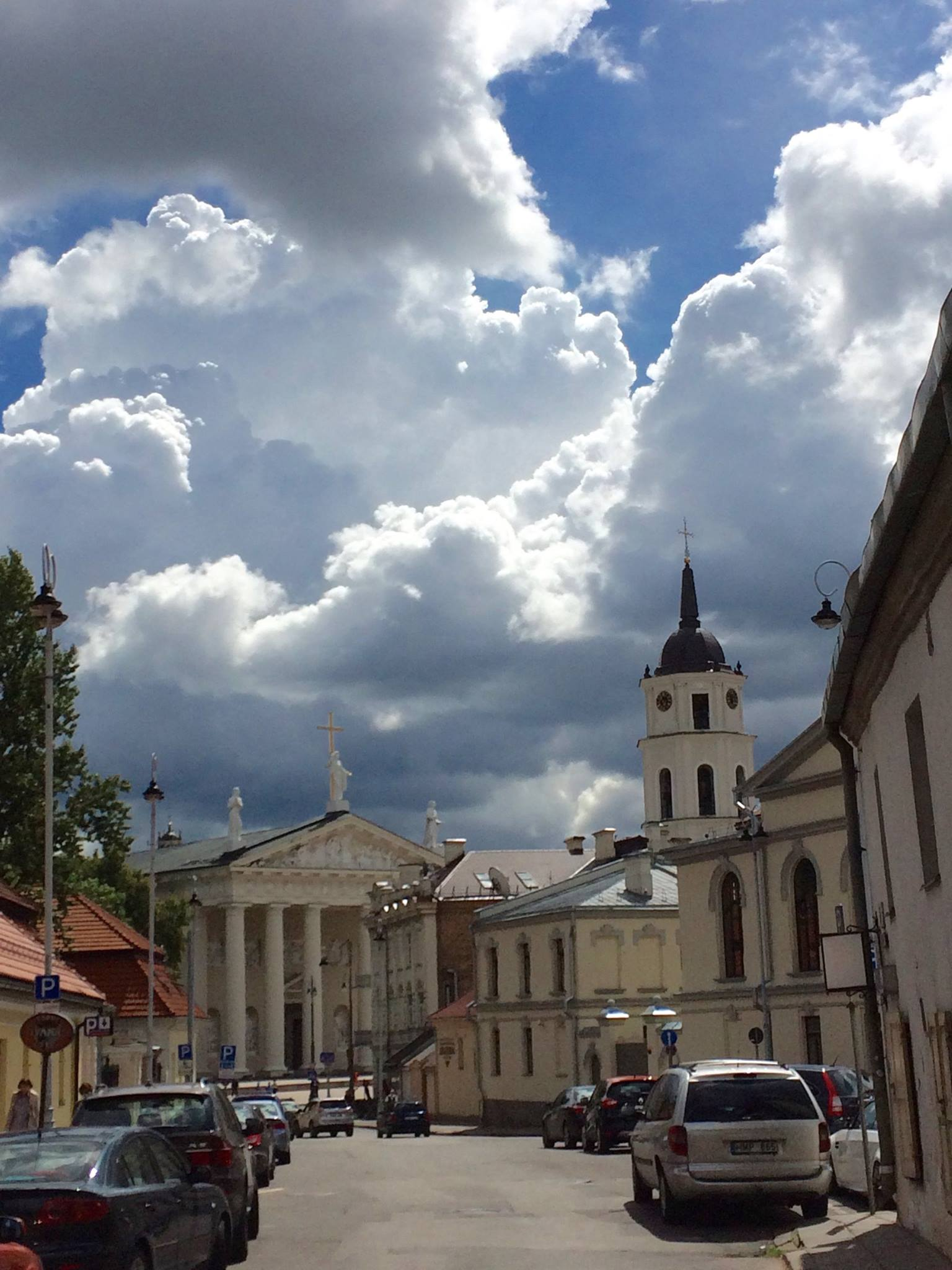 Vilna Cathedral. Photograph by Susan Stryker.