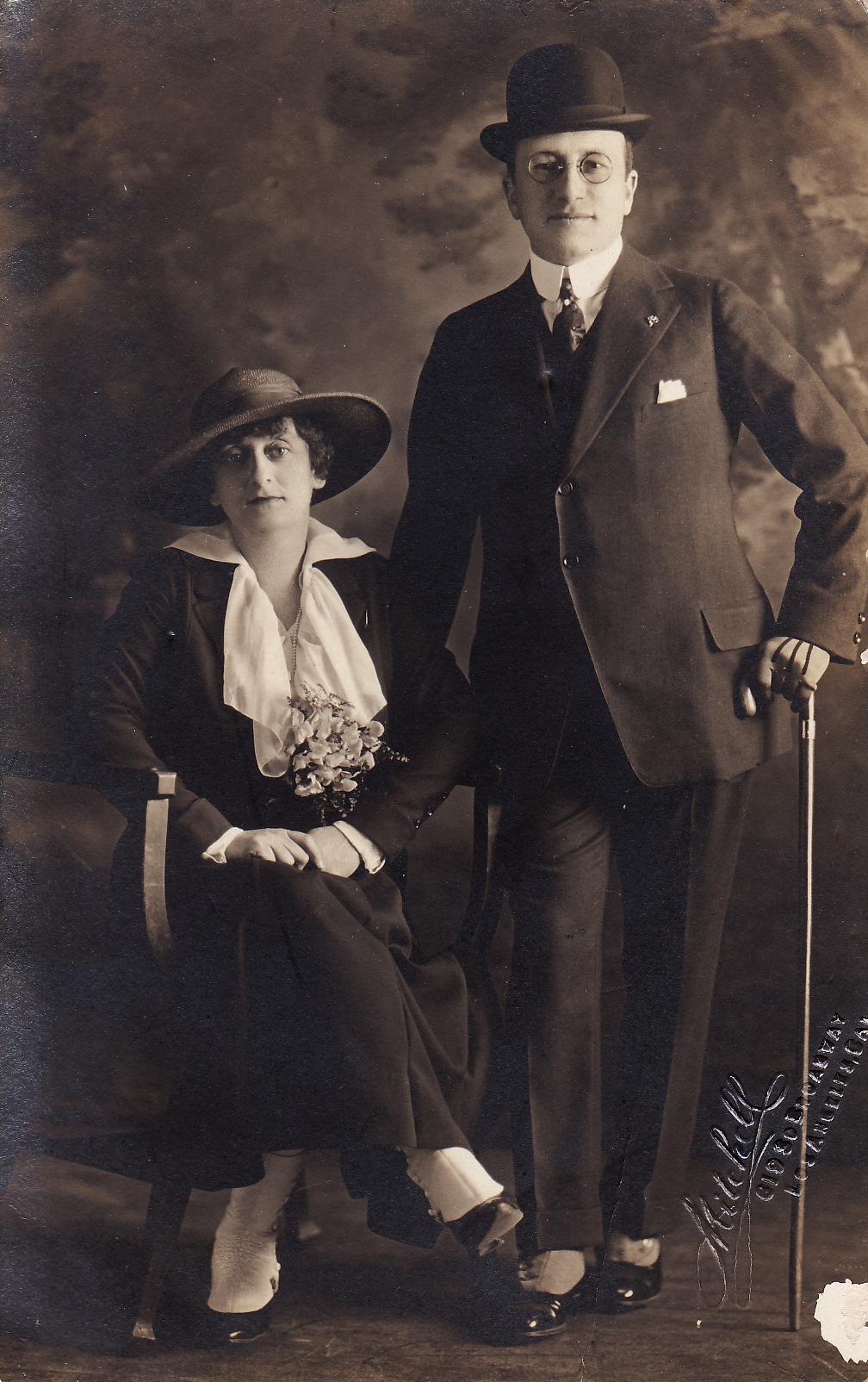 Minnie Samilson and Mark Rogers