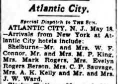 Minnie Rogers, Sun 18 May 1934