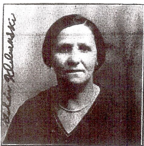 Goldie Angenitski Klebanski 1936