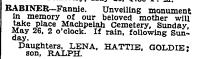 Copy of NYT 19 May 1935